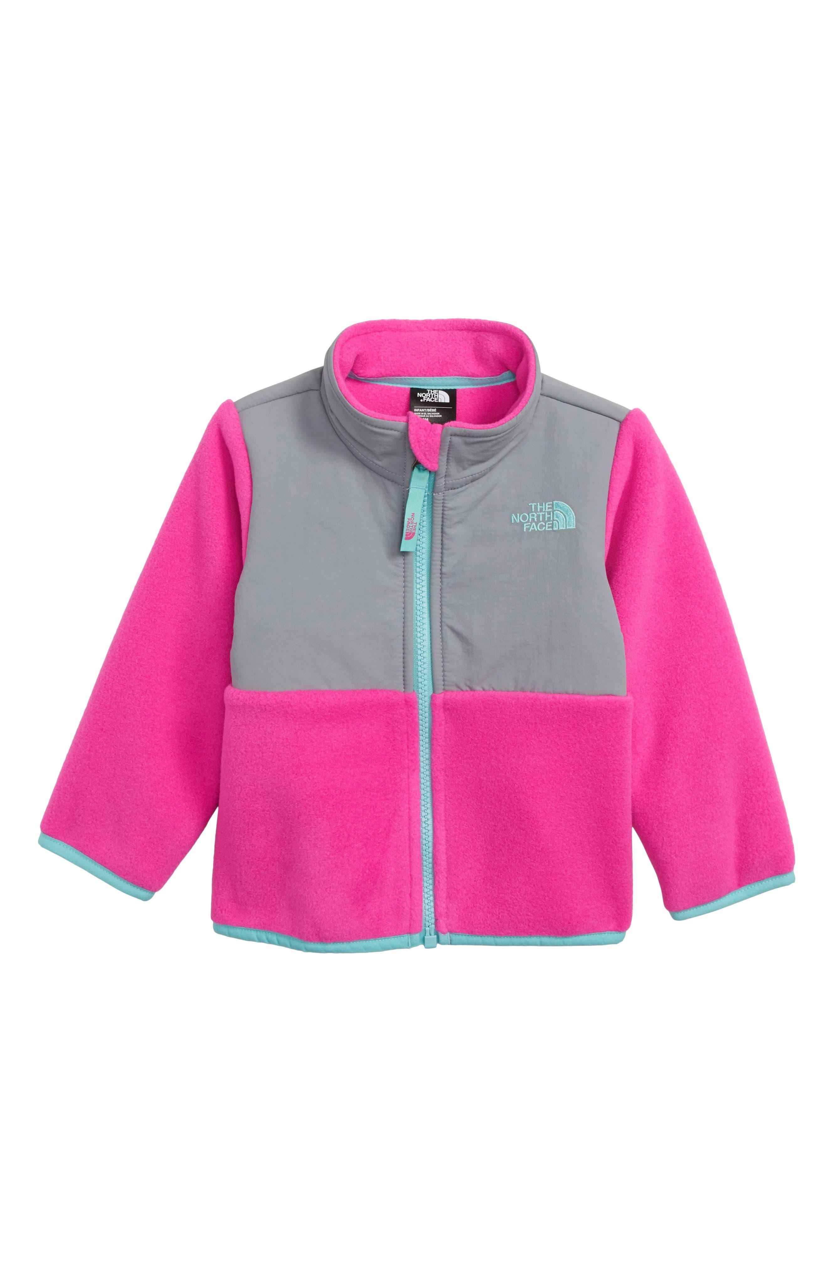 THE NORTH FACE Denali Thermal Fleece Jacket, Main, color, AZALEA PINK