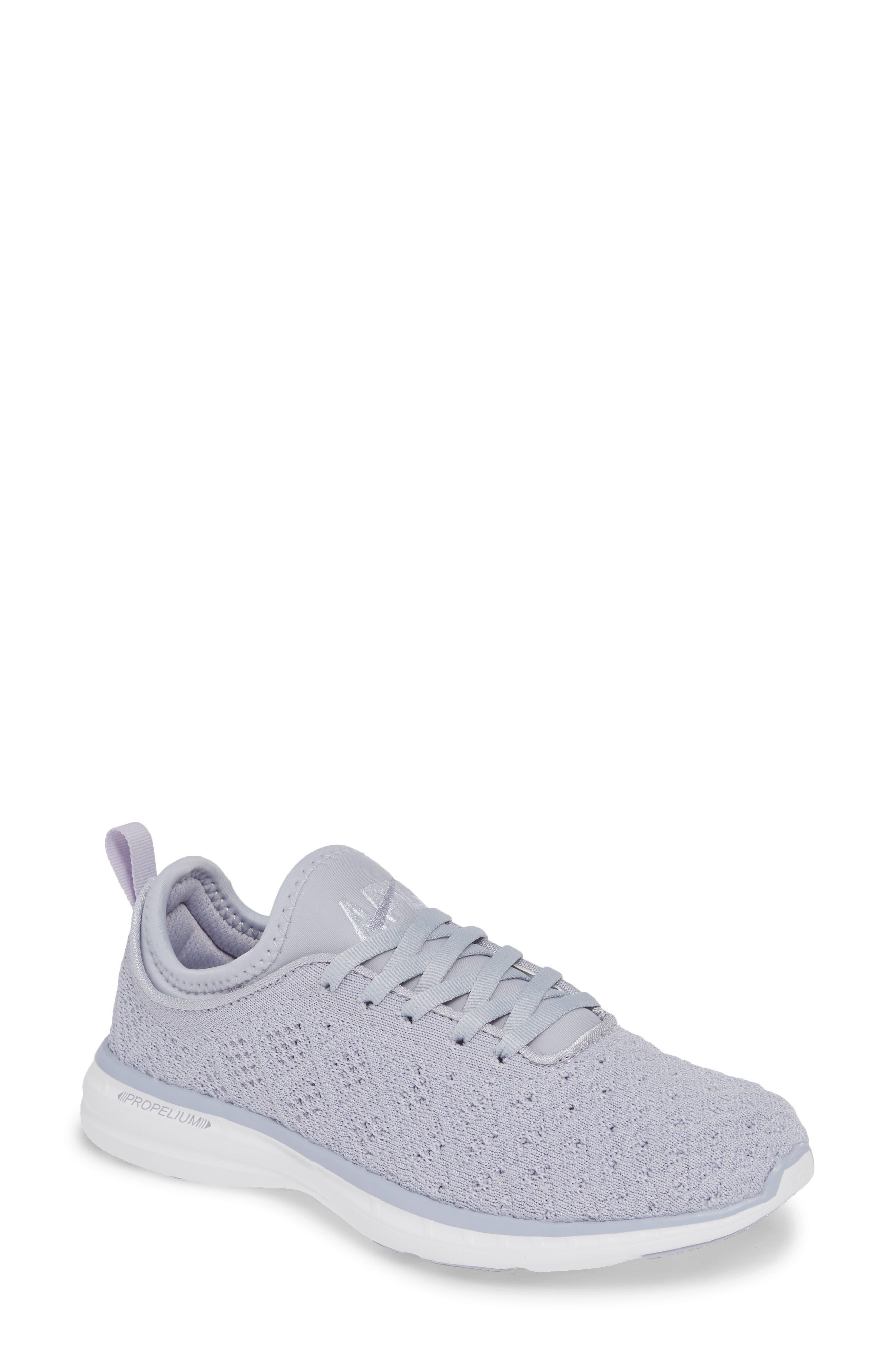 APL TechLoom Phantom Running Shoe, Main, color, FADED LAVENDER/ WHITE
