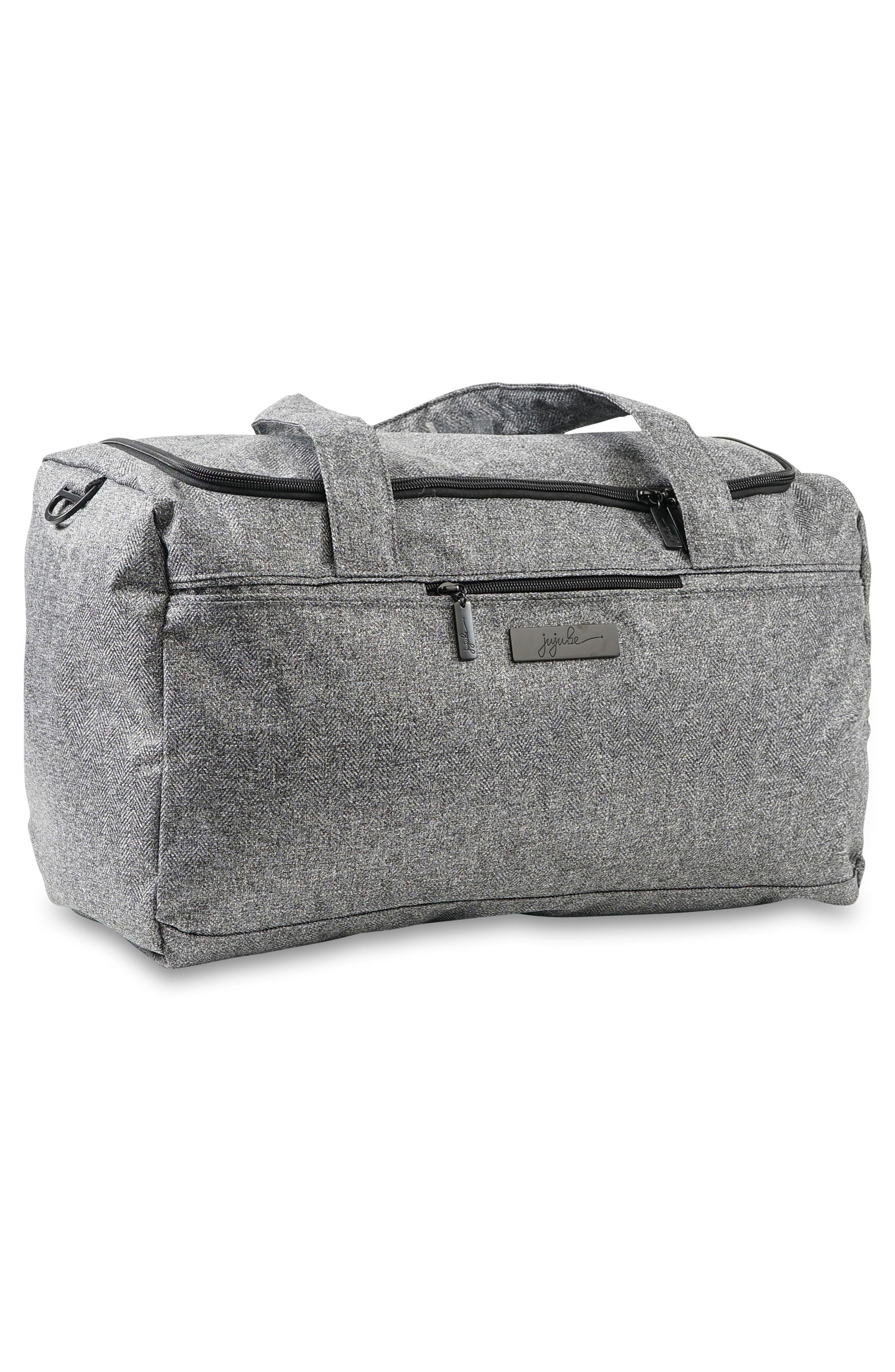 JU-JU-BE, Starlet Onyx Collection Travel Diaper Bag, Alternate thumbnail 2, color, GRAY MATTER
