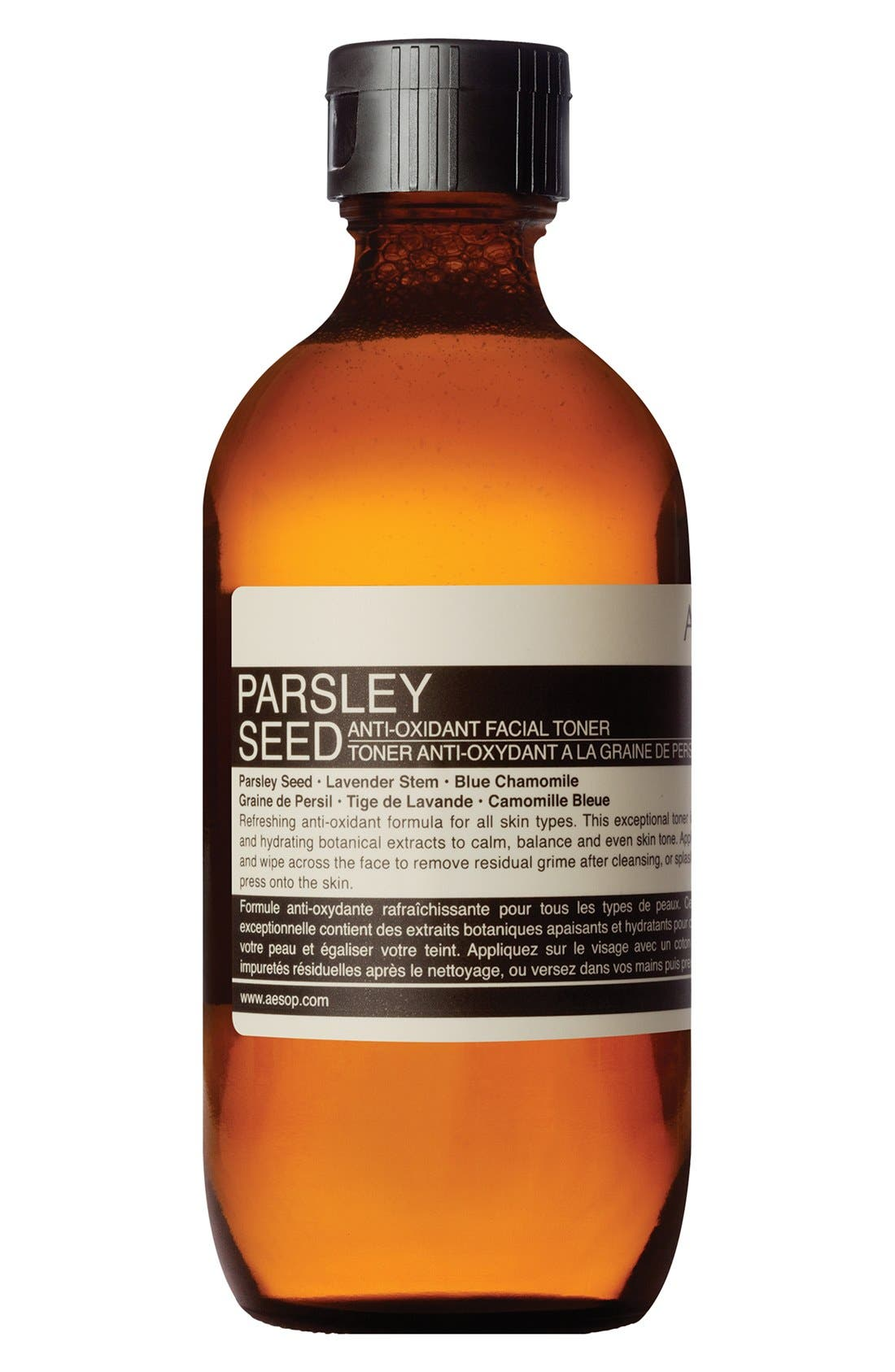 AESOP, Parsley Seed Anti-Oxidant Facial Toner, Alternate thumbnail 2, color, NONE