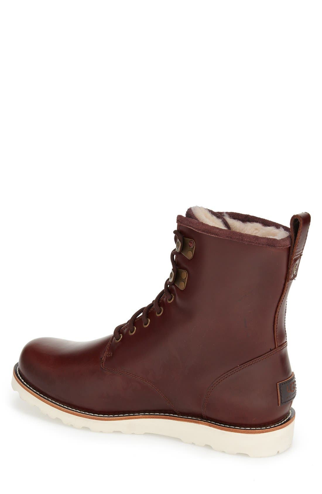 UGG<SUP>®</SUP>, Hannen Waterproof Boot, Alternate thumbnail 2, color, 604