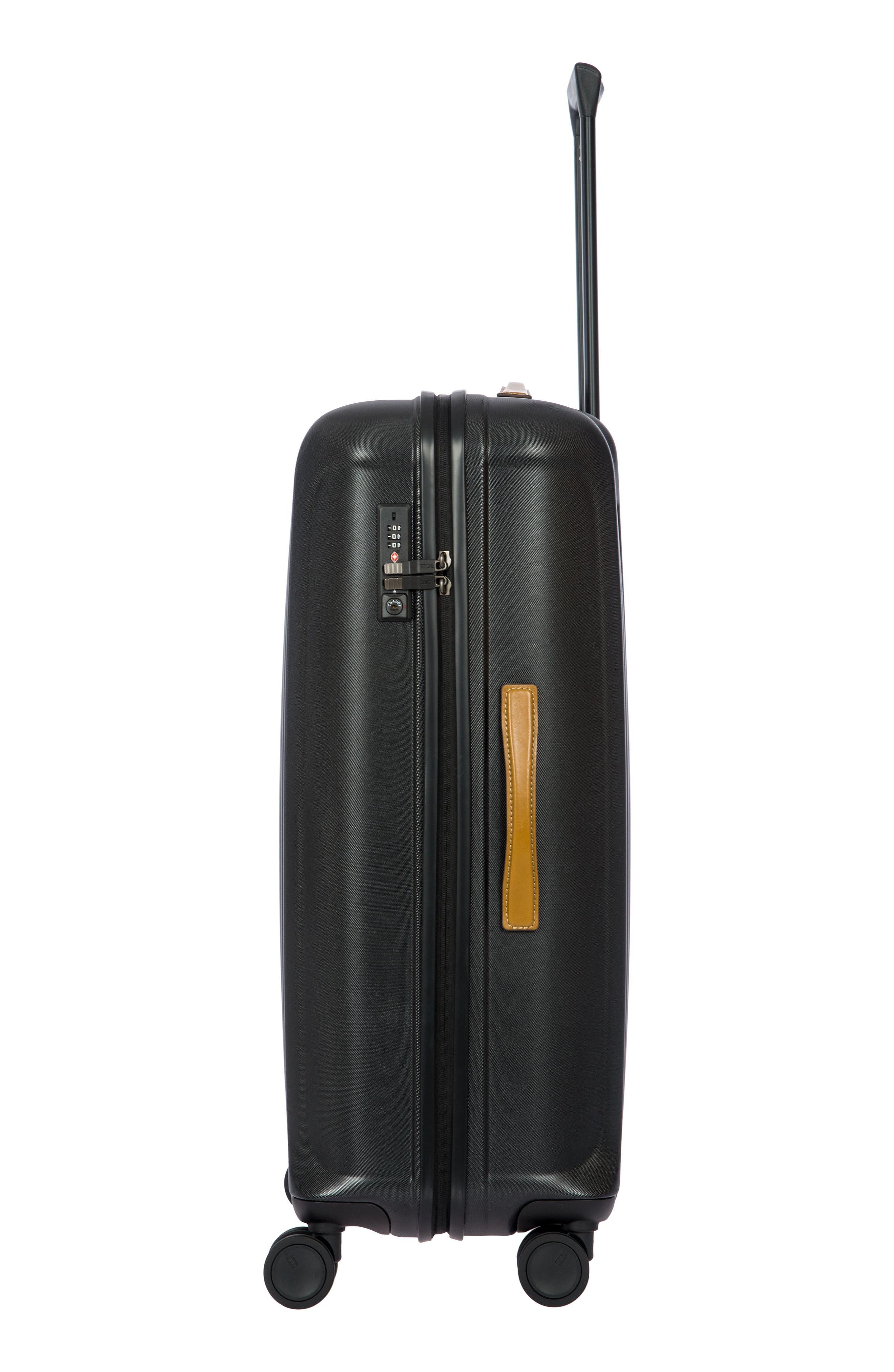 BRIC'S, Capri 32-Inch Spinner Suitcase, Alternate thumbnail 6, color, MATTE BLACK