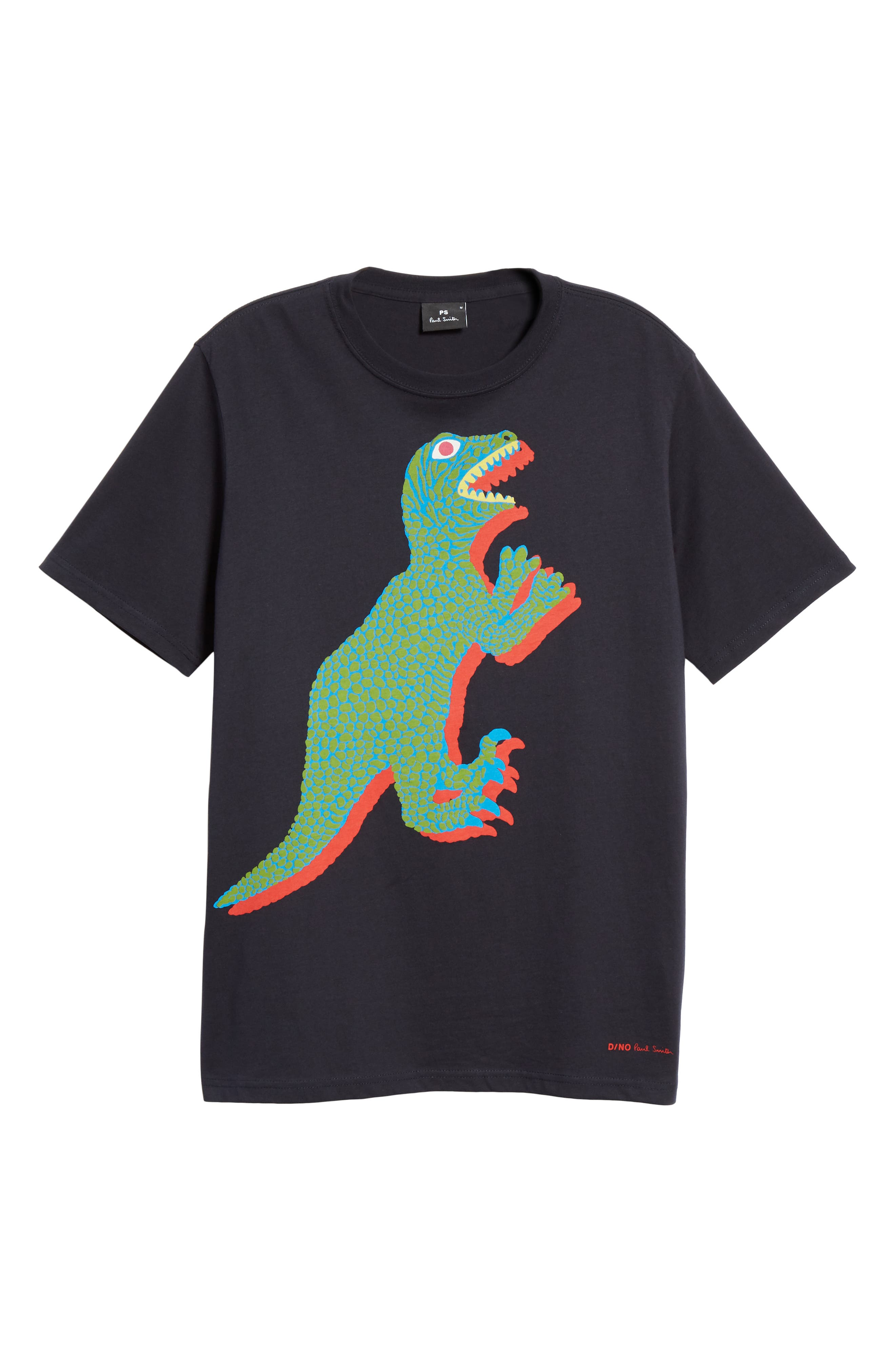 PS PAUL SMITH, Dino Graphic T-Shirt, Alternate thumbnail 6, color, 419