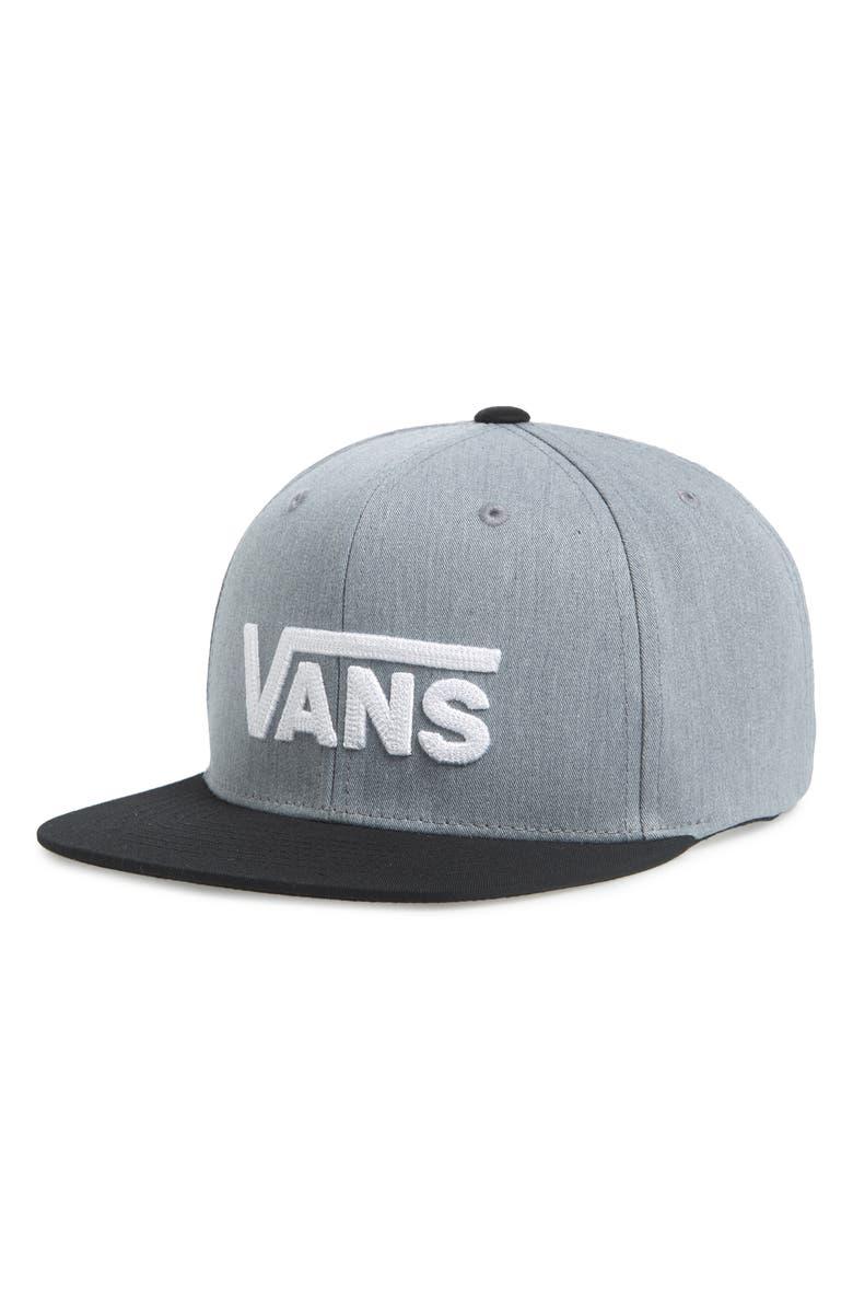 c48e7e65372919 Vans Drop V II Snapback Baseball Cap (Boys)