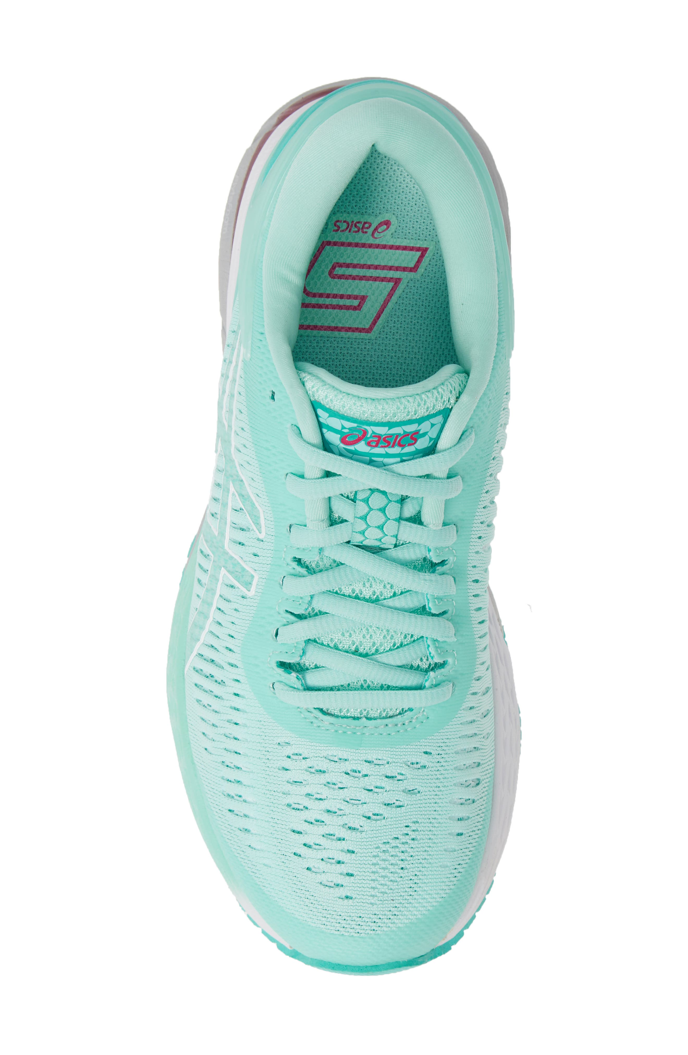 ASICS<SUP>®</SUP>, GEL-Kayano<sup>®</sup> 25 Running Shoe, Alternate thumbnail 5, color, ICY MORNING/ SEA GLASS