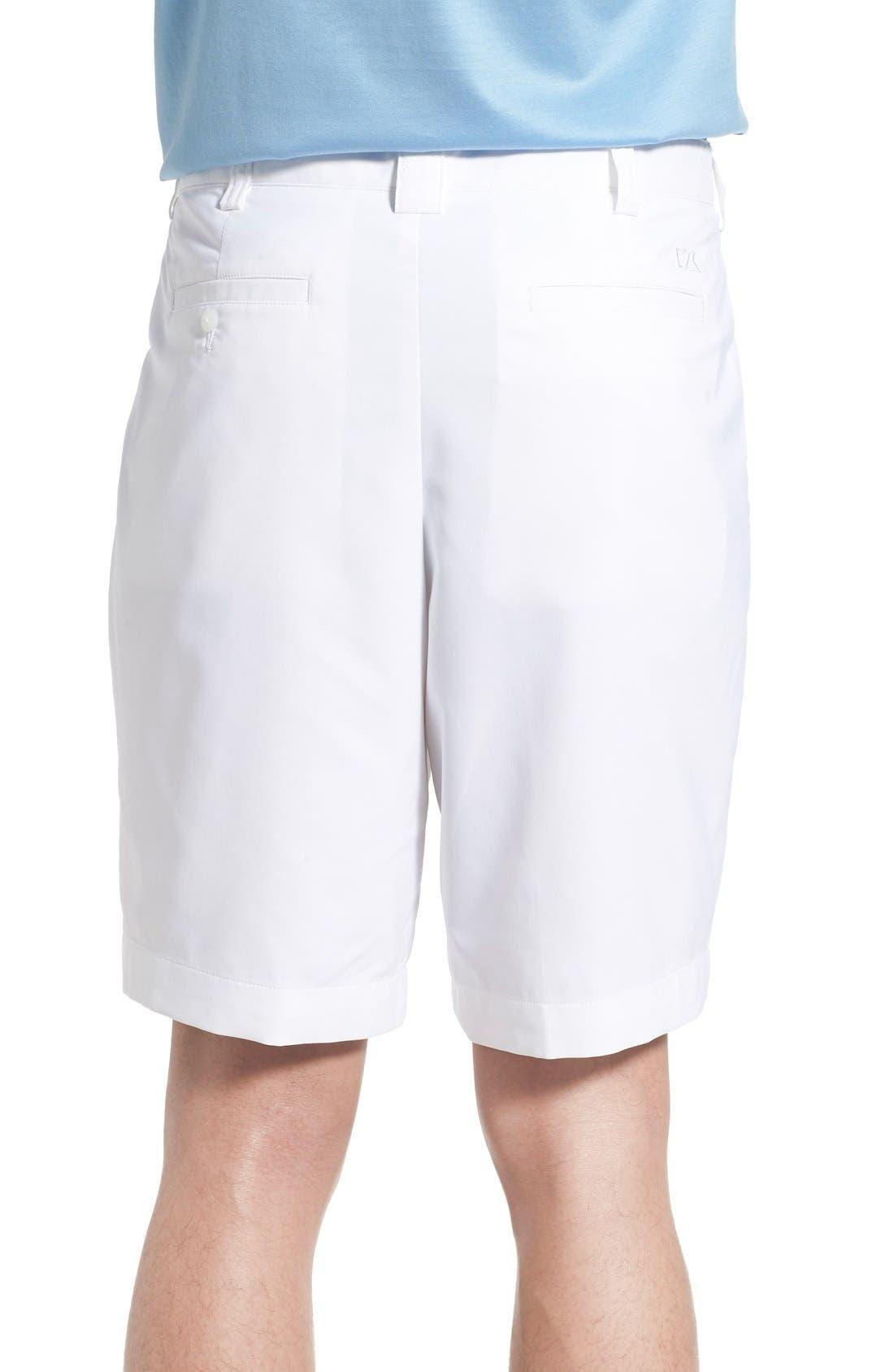 CUTTER & BUCK, DryTec Shorts, Alternate thumbnail 2, color, WHITE