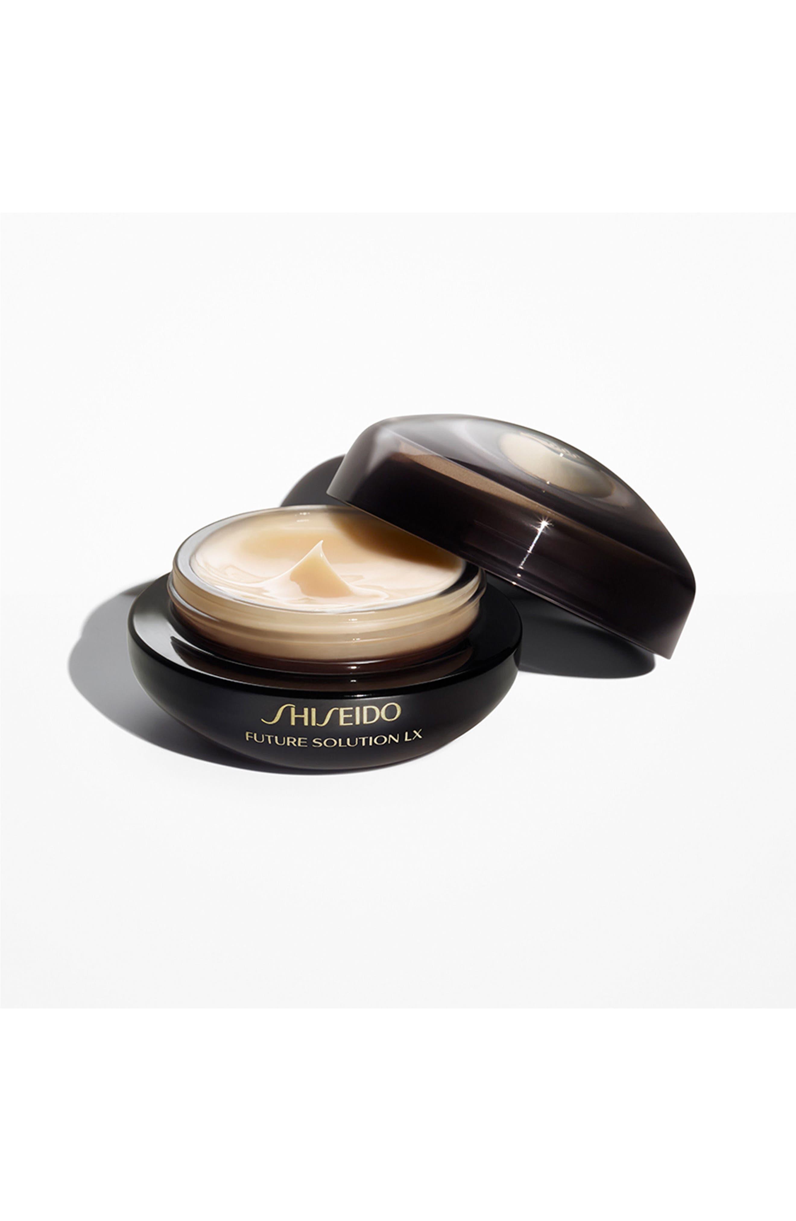 SHISEIDO, Future Solution LX Eye & Lip Contour Regenerating Cream, Alternate thumbnail 2, color, NO COLOR