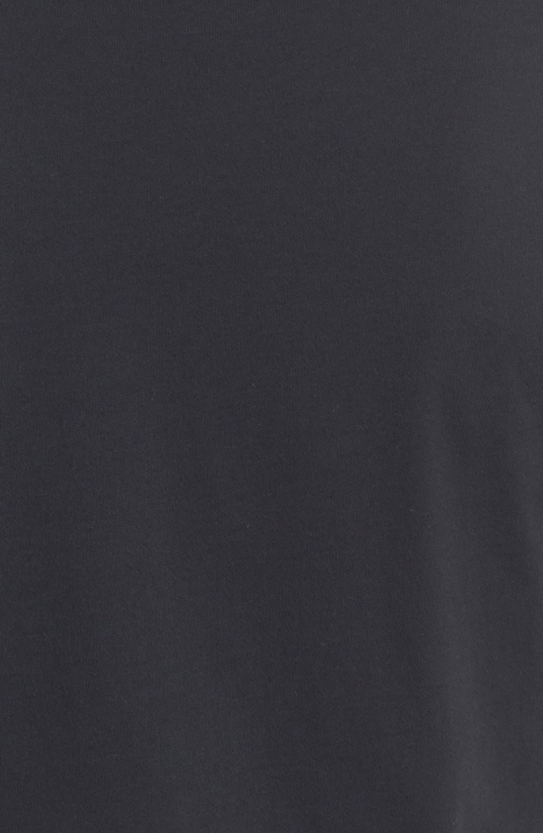 BLK DNM, 'T-Shirt 3' Pima Cotton T-Shirt, Alternate thumbnail 3, color, 001