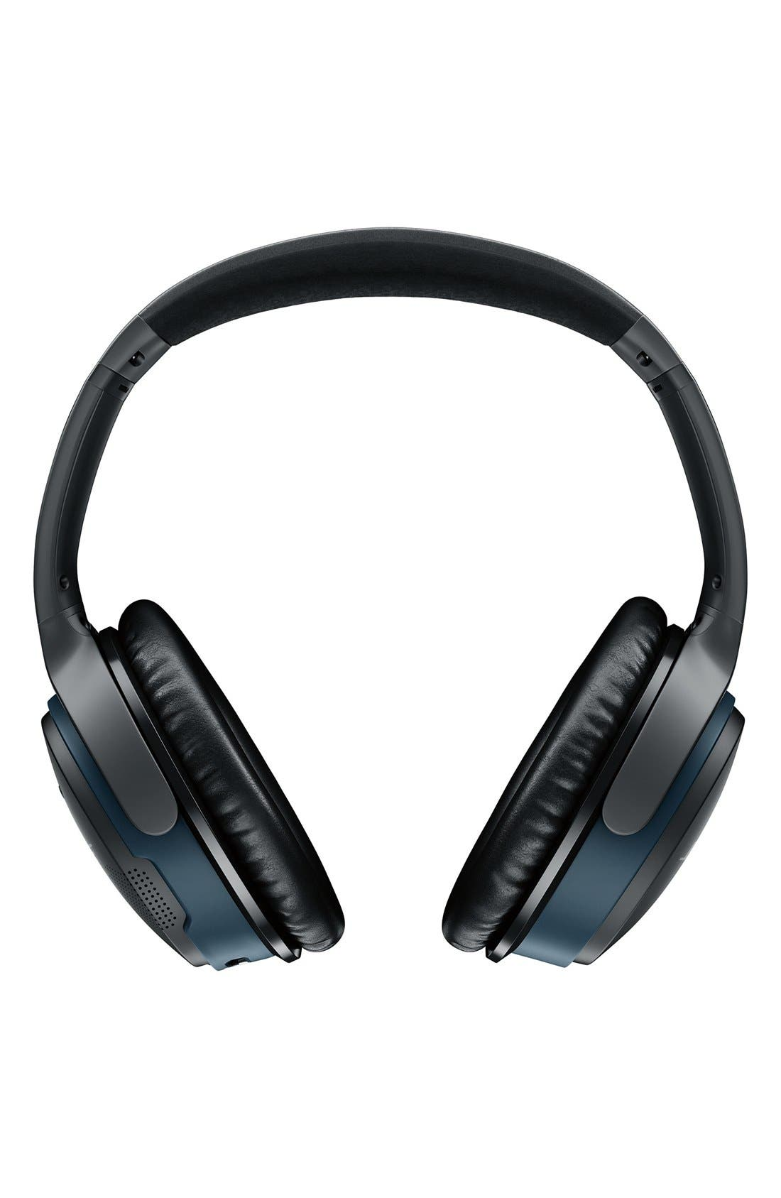 BOSE<SUP>®</SUP>, SoundLink<sup>®</sup> Around-Ear Bluetooth<sup>®</sup> Headphones, Alternate thumbnail 3, color, BLACK