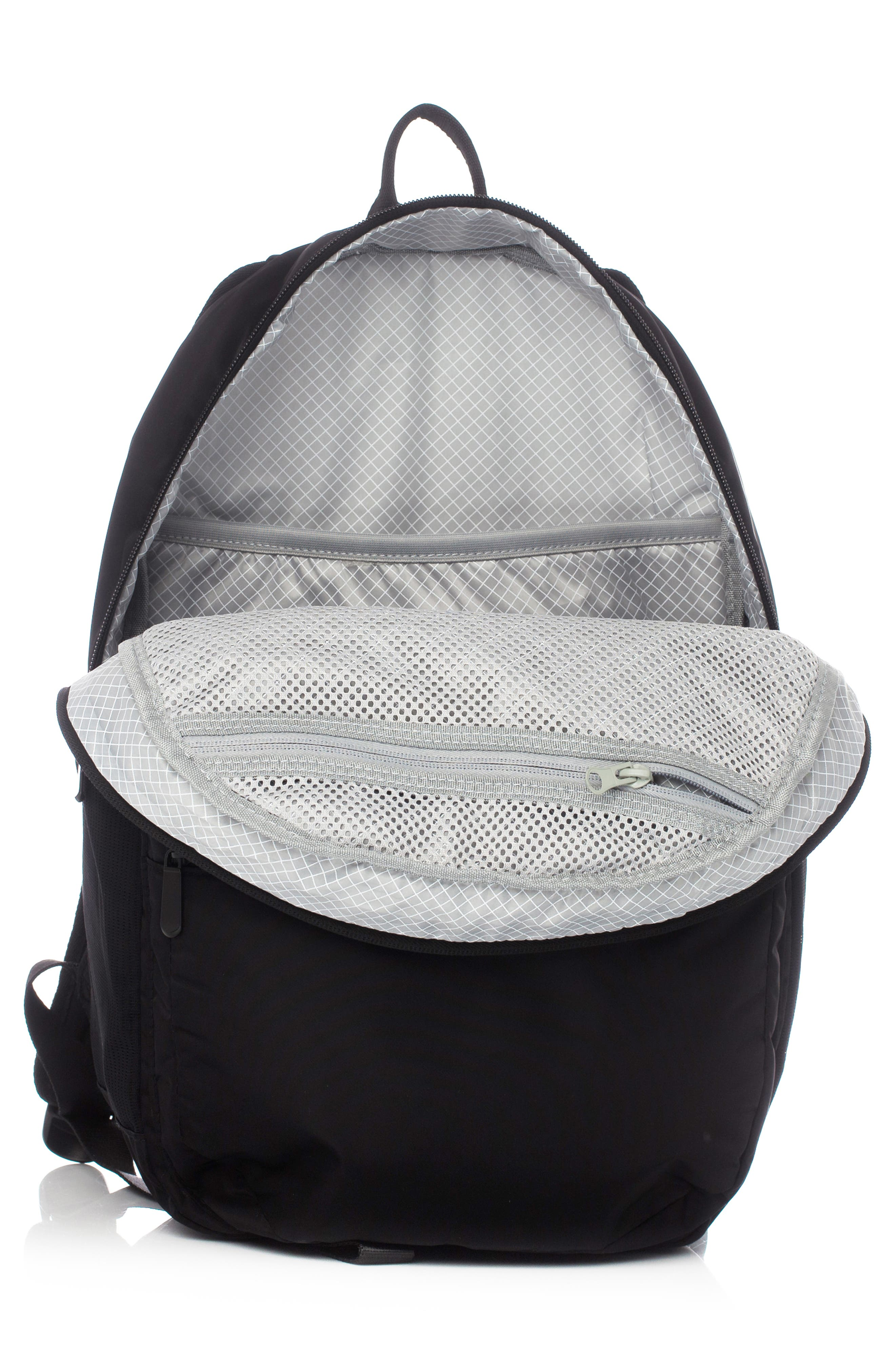 VOORAY, Ace Backpack, Alternate thumbnail 3, color, BLACK NYLON