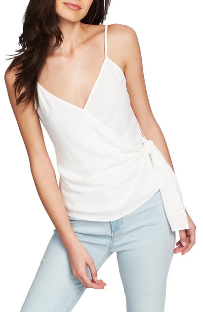1.state Tops WRAP FRONT CAMISOLE