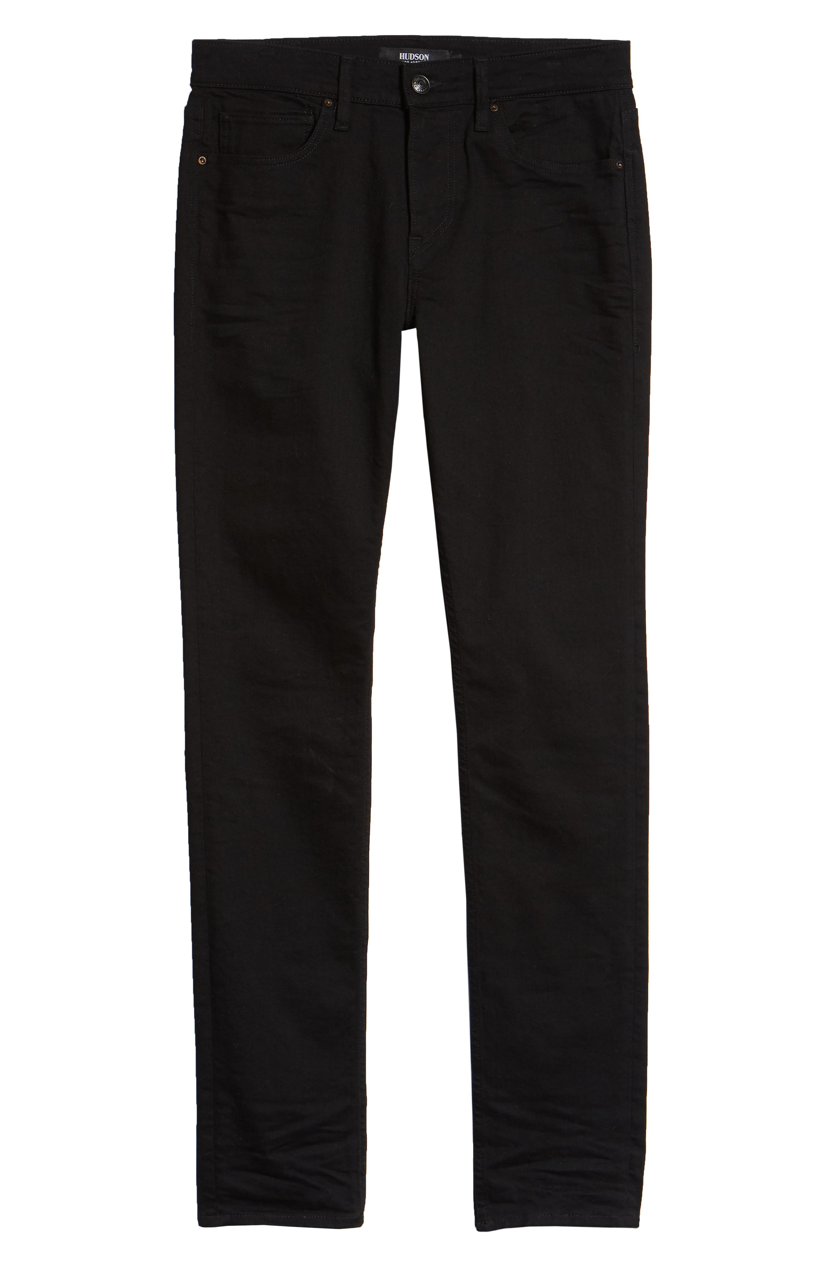 HUDSON JEANS, Hudson Axl Skinny Fit Jeans, Alternate thumbnail 6, color, HASKETT