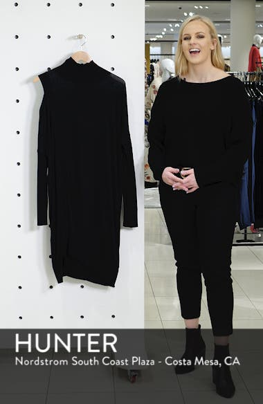 Cecily Turtleneck Sweater Dress, sales video thumbnail