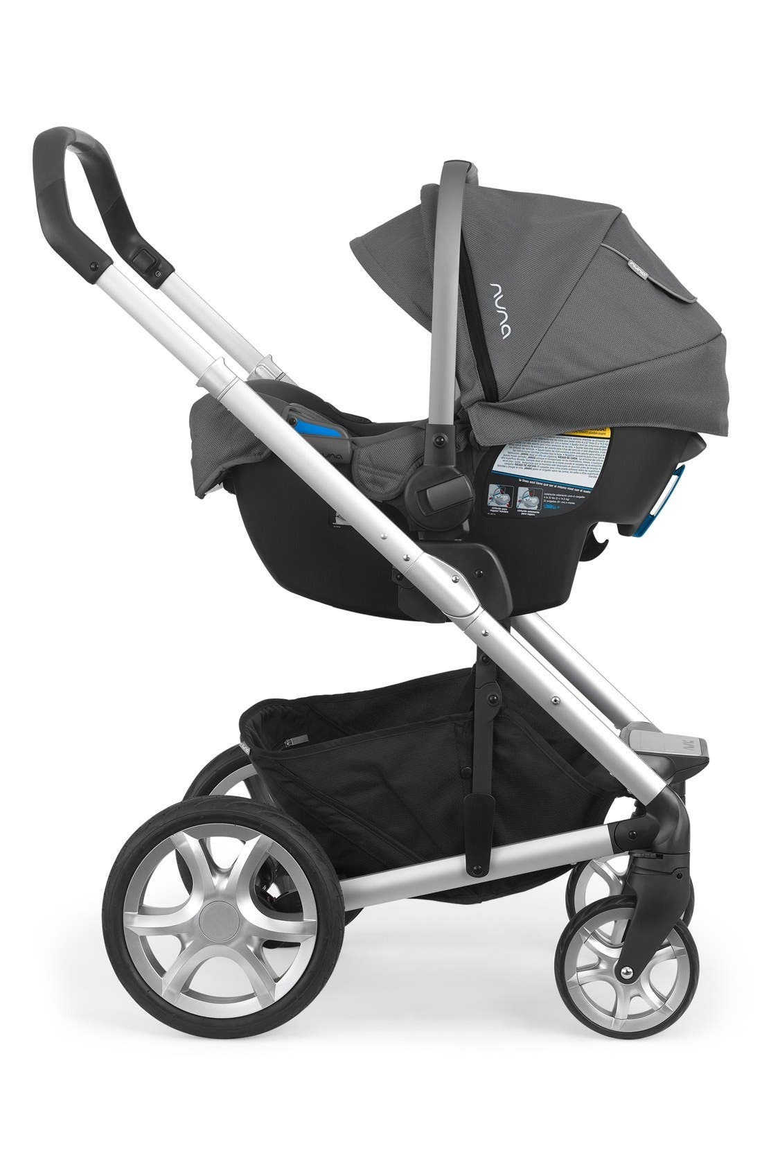 NUNA, PIPA<sup>™</sup> Car Seat & Base, Alternate thumbnail 3, color, GRAPHITE