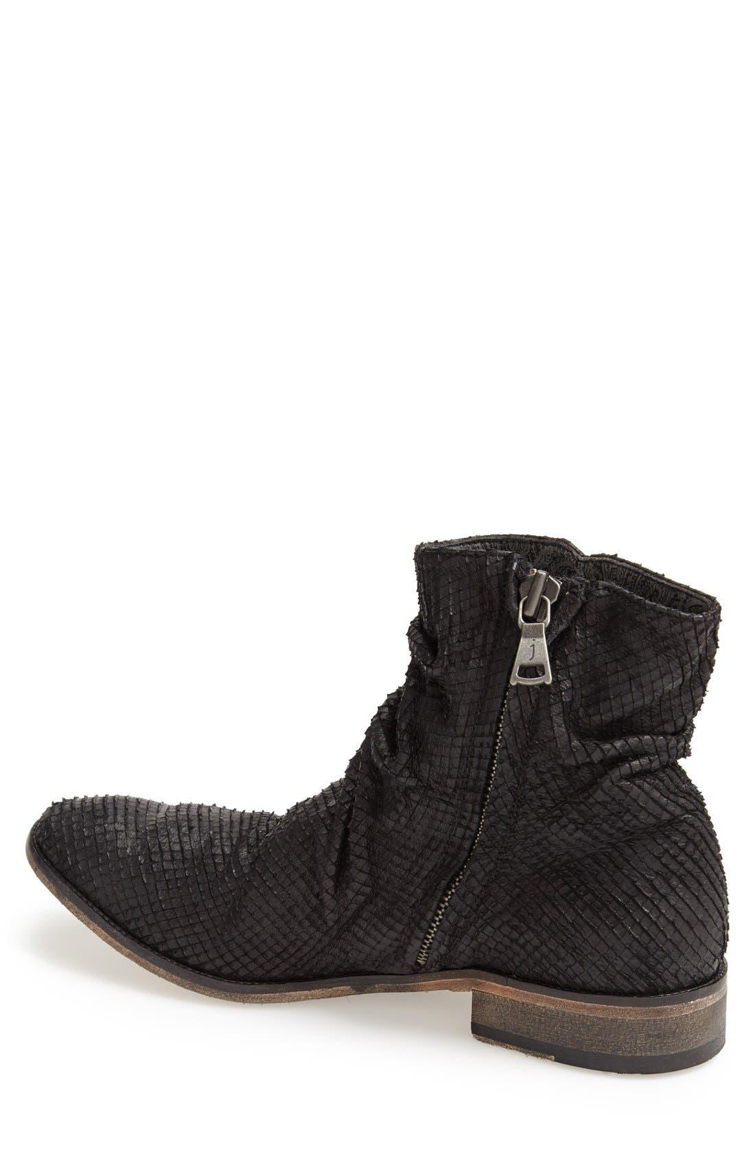 JOHN VARVATOS, Collection 'Richards - Sharpei' Zip Boot, Alternate thumbnail 3, color, 001