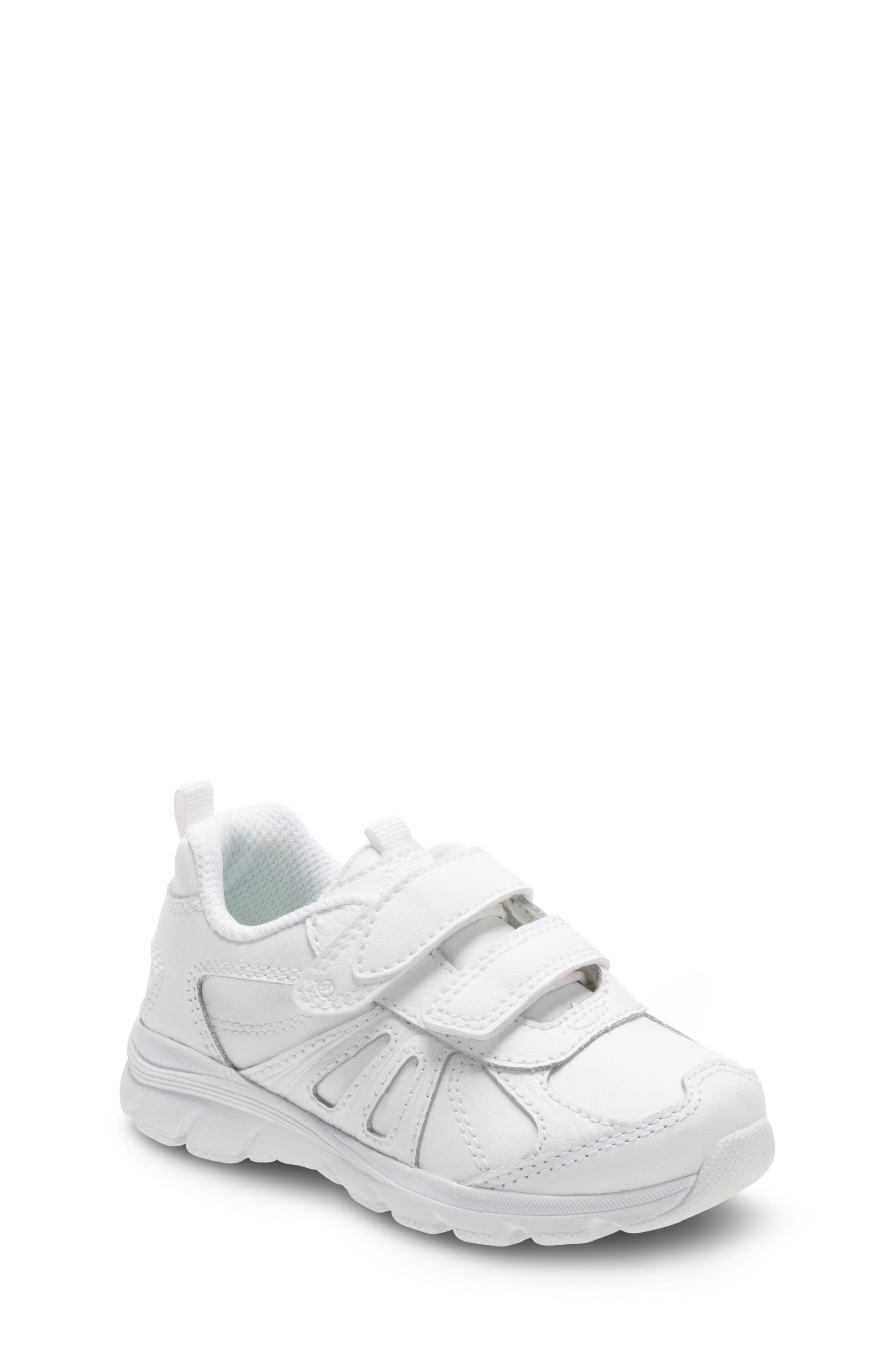 Toddler Stride Rite Cooper 20 Sneaker Size 10 XW  White