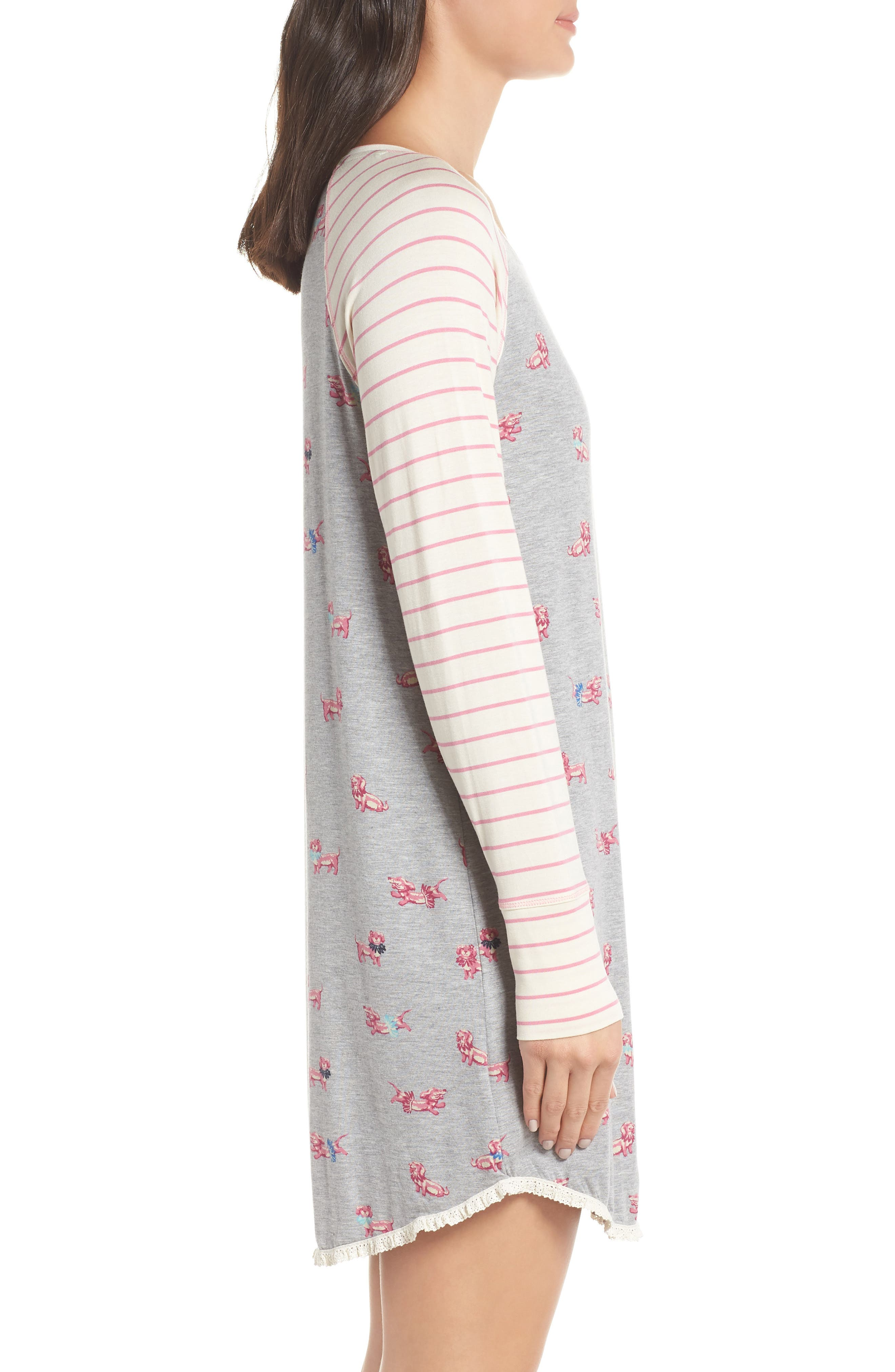 HATLEY, Nighty Nightshirt, Alternate thumbnail 3, color, 020