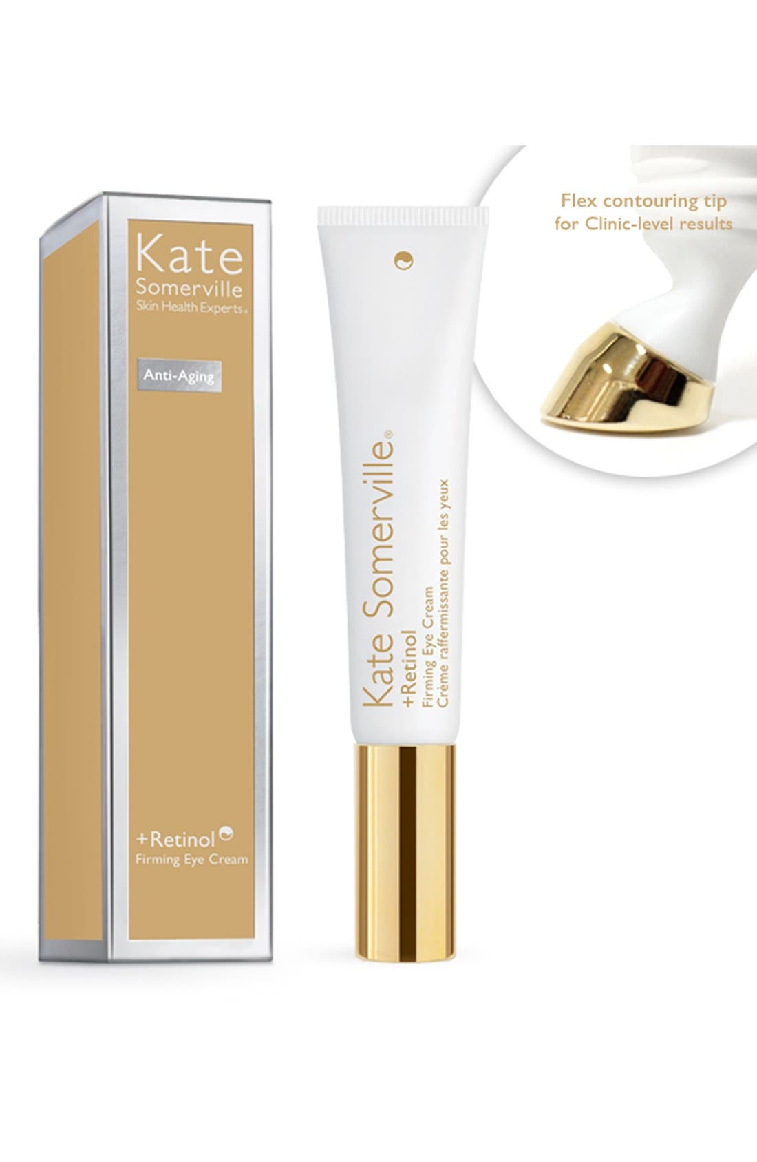 KATE SOMERVILLE<SUP>®</SUP>, +Retinol Firming Eye Cream, Alternate thumbnail 9, color, NO COLOR