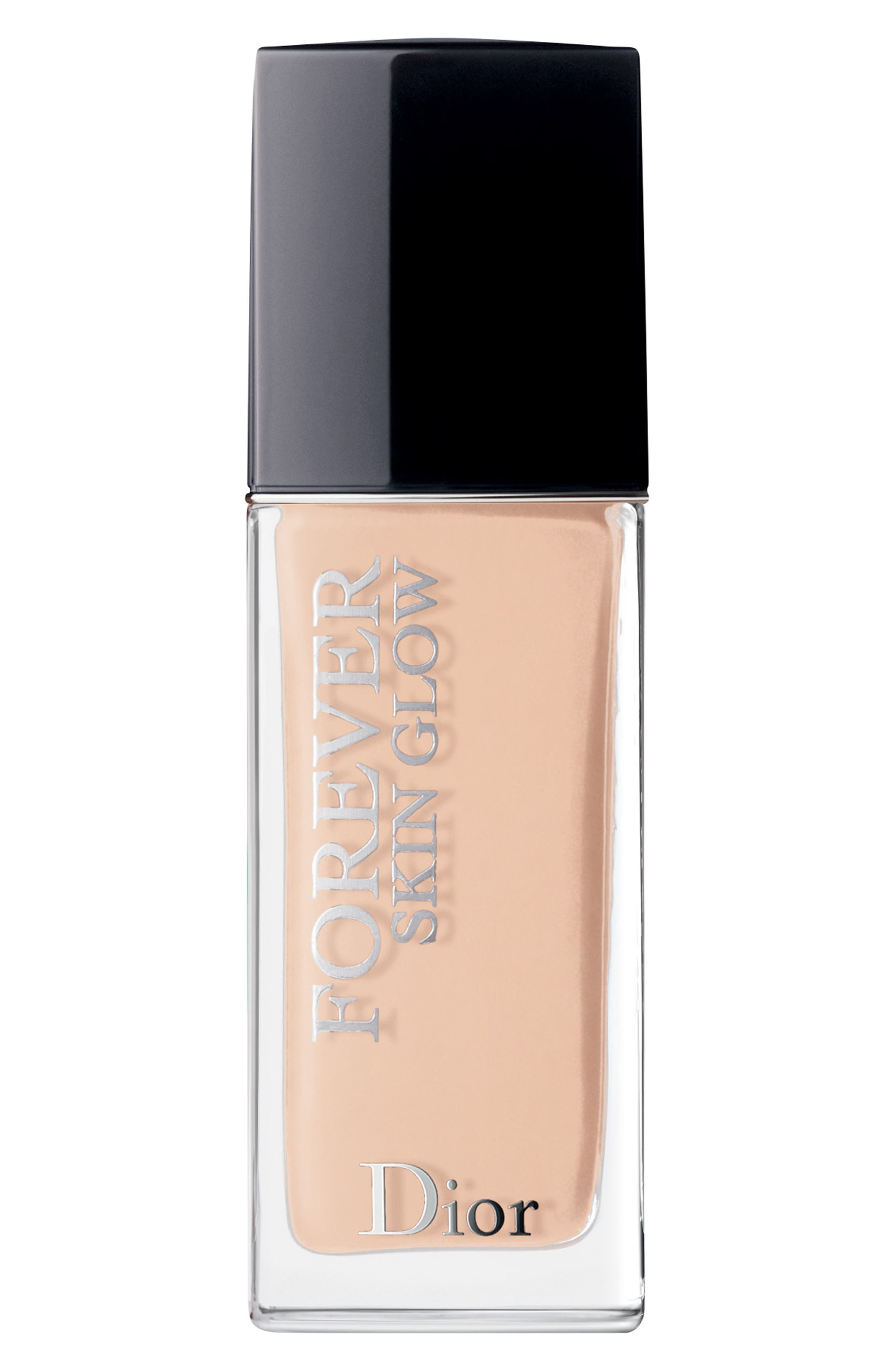 DIOR, Forever Skin Glow Radiant Perfection Skin-Caring Foundation SPF 35, Main thumbnail 1, color, 1 COOL ROSY