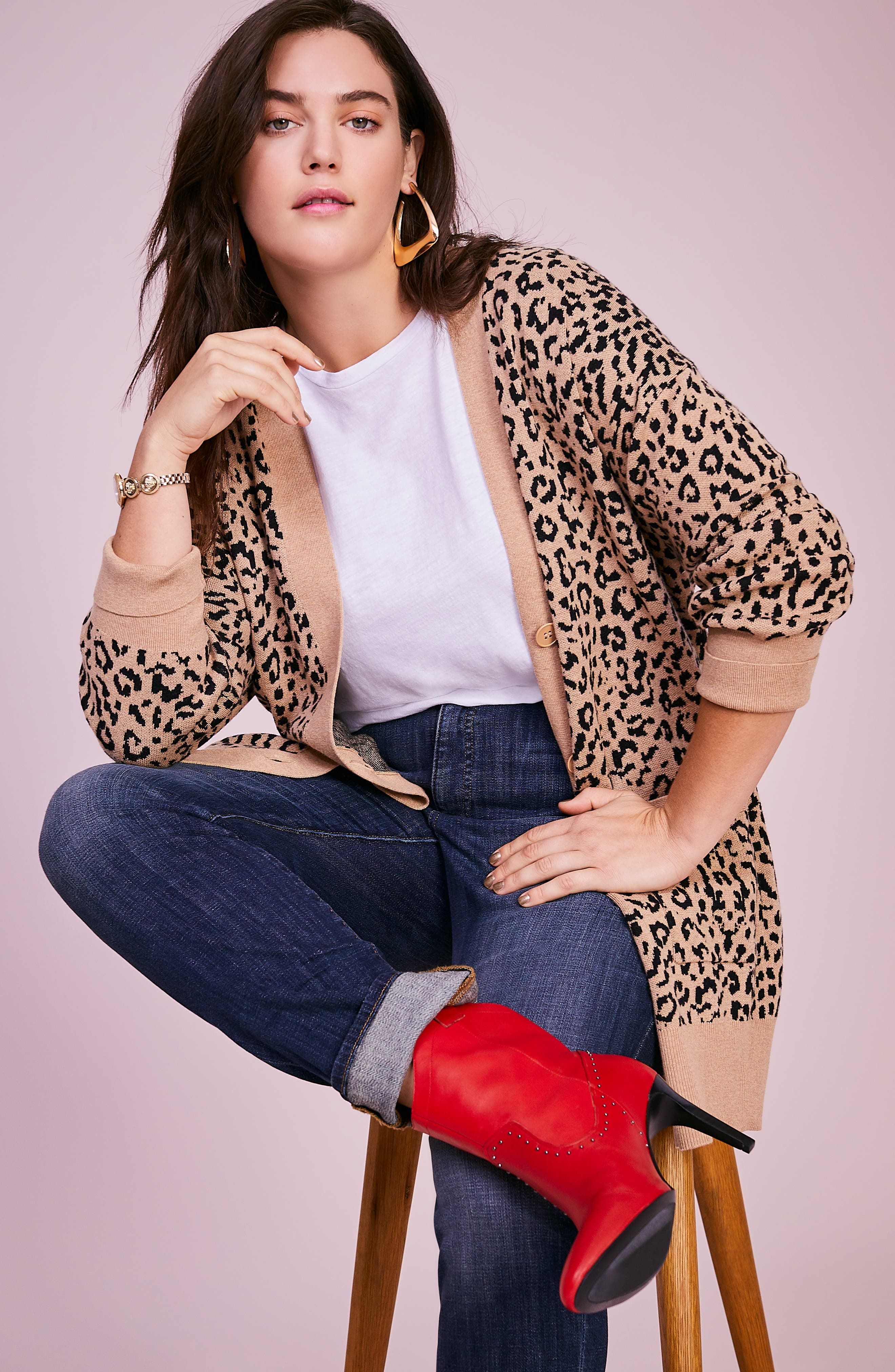 LUCKY BRAND, Emma High Rise Stretch Straight Leg Jeans, Alternate thumbnail 7, color, TIBURON