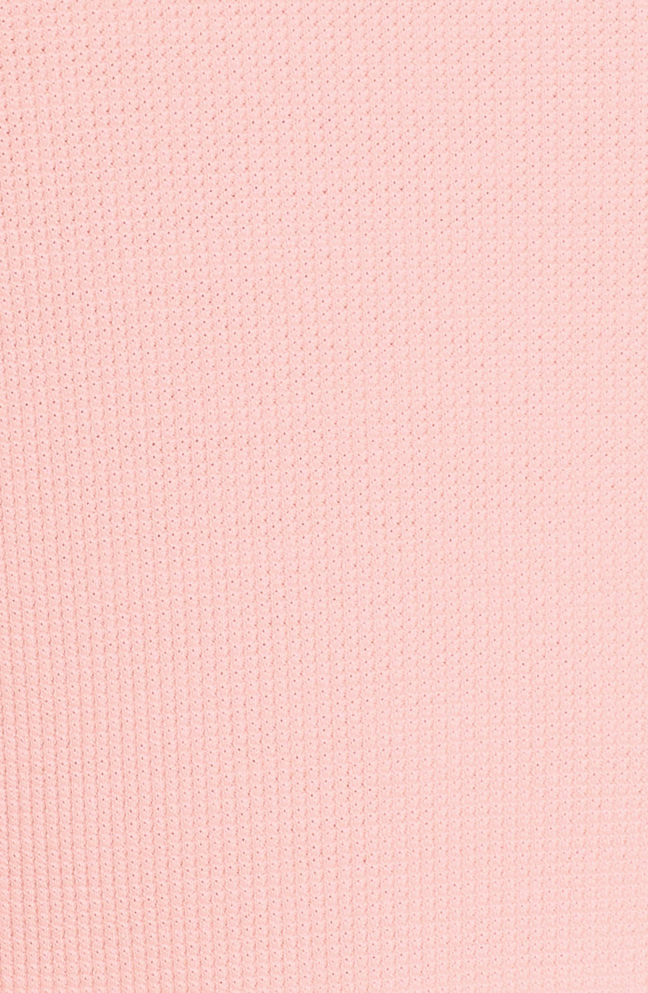 SANCTUARY, Daybreak Thermal Tee, Alternate thumbnail 5, color, PINK FIZZ
