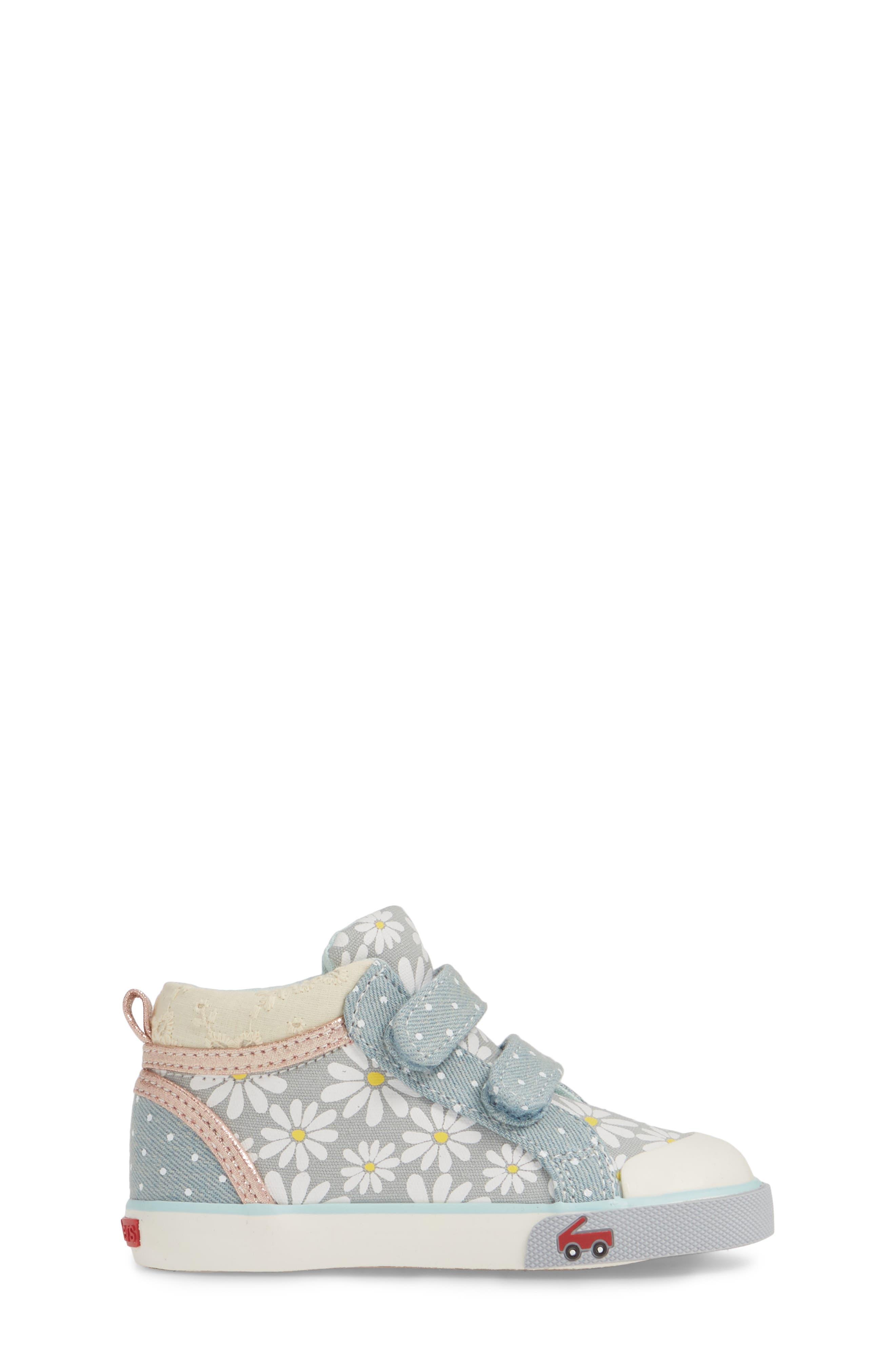 SEE KAI RUN, Kya Sneaker, Alternate thumbnail 3, color, GRAY DAISY
