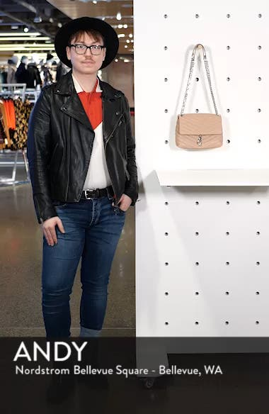 Edie Quilted Leather Crossbody Bag, sales video thumbnail