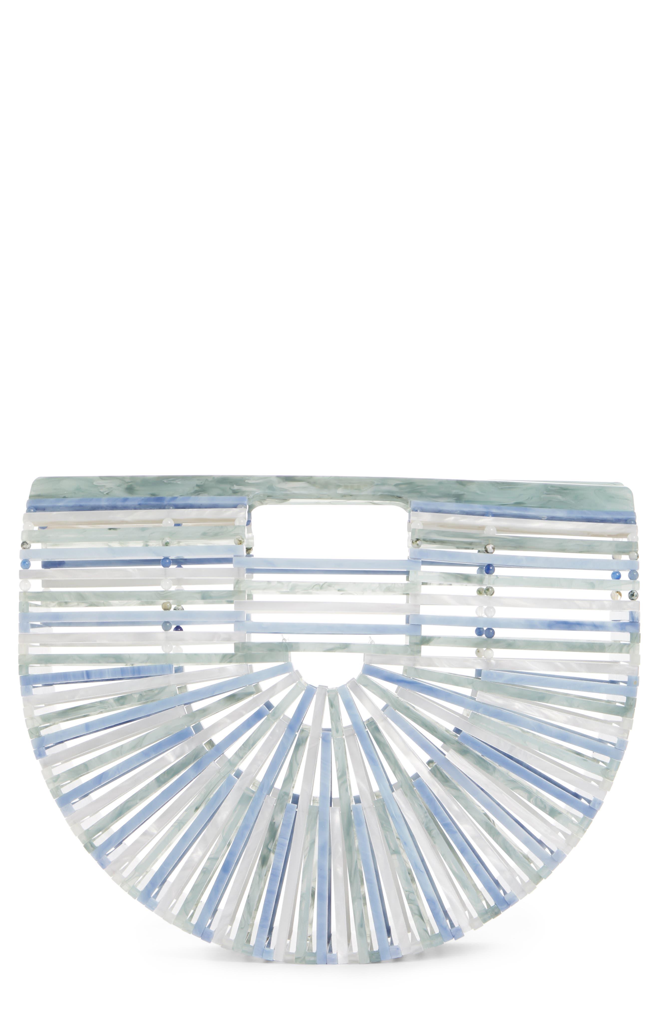 CULT GAIA Small Ark Handbag, Main, color, SAGE MULTI