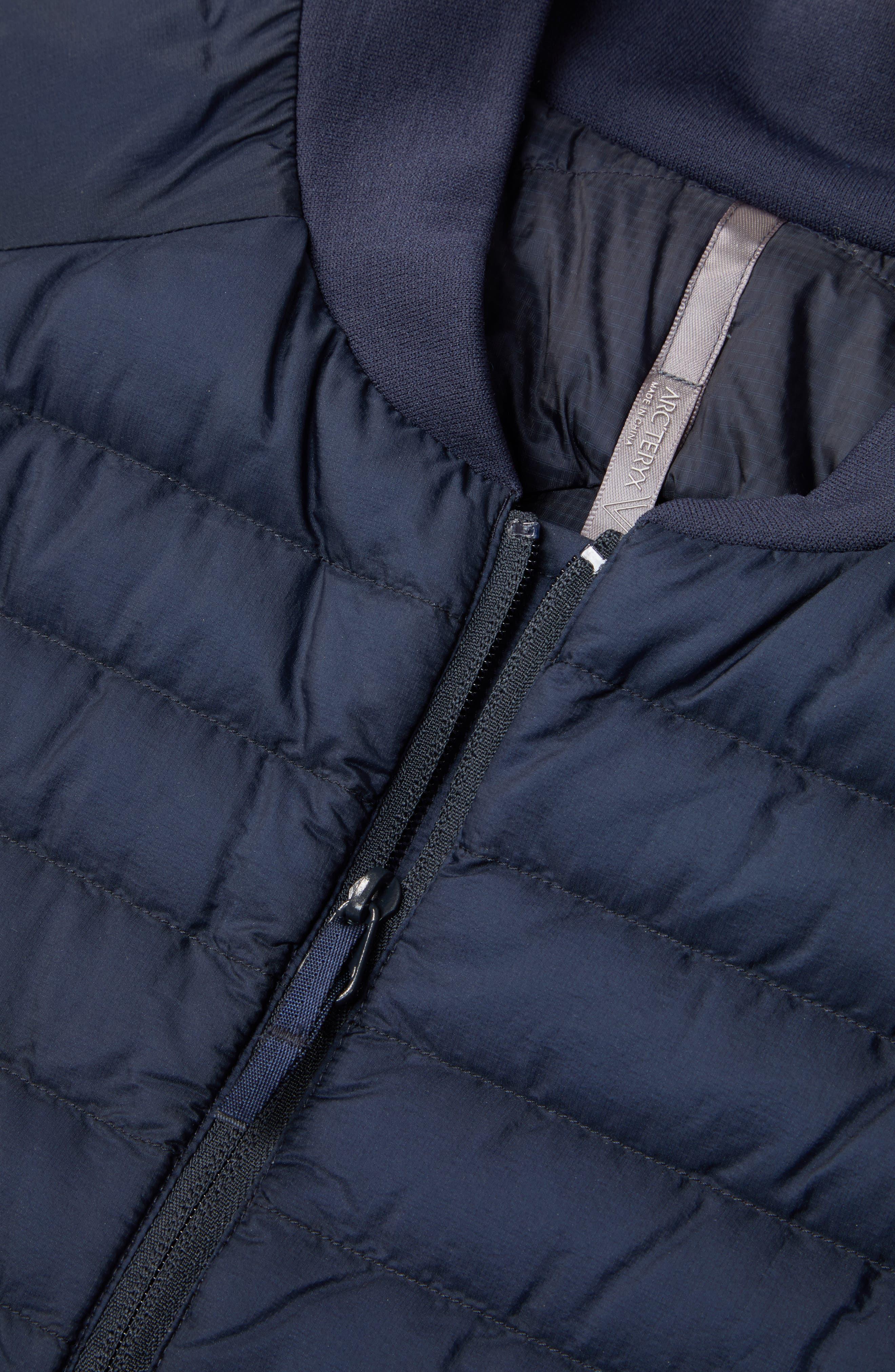 ARC'TERYX VEILANCE, Conduit Lightweight Down Vest, Alternate thumbnail 6, color, 410