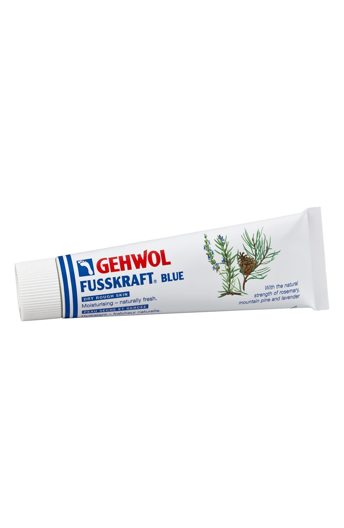 GEHWOL,  FUSSKRAFT<sup>®</sup> Blue Foot Cream, Main thumbnail 1, color, BLUE