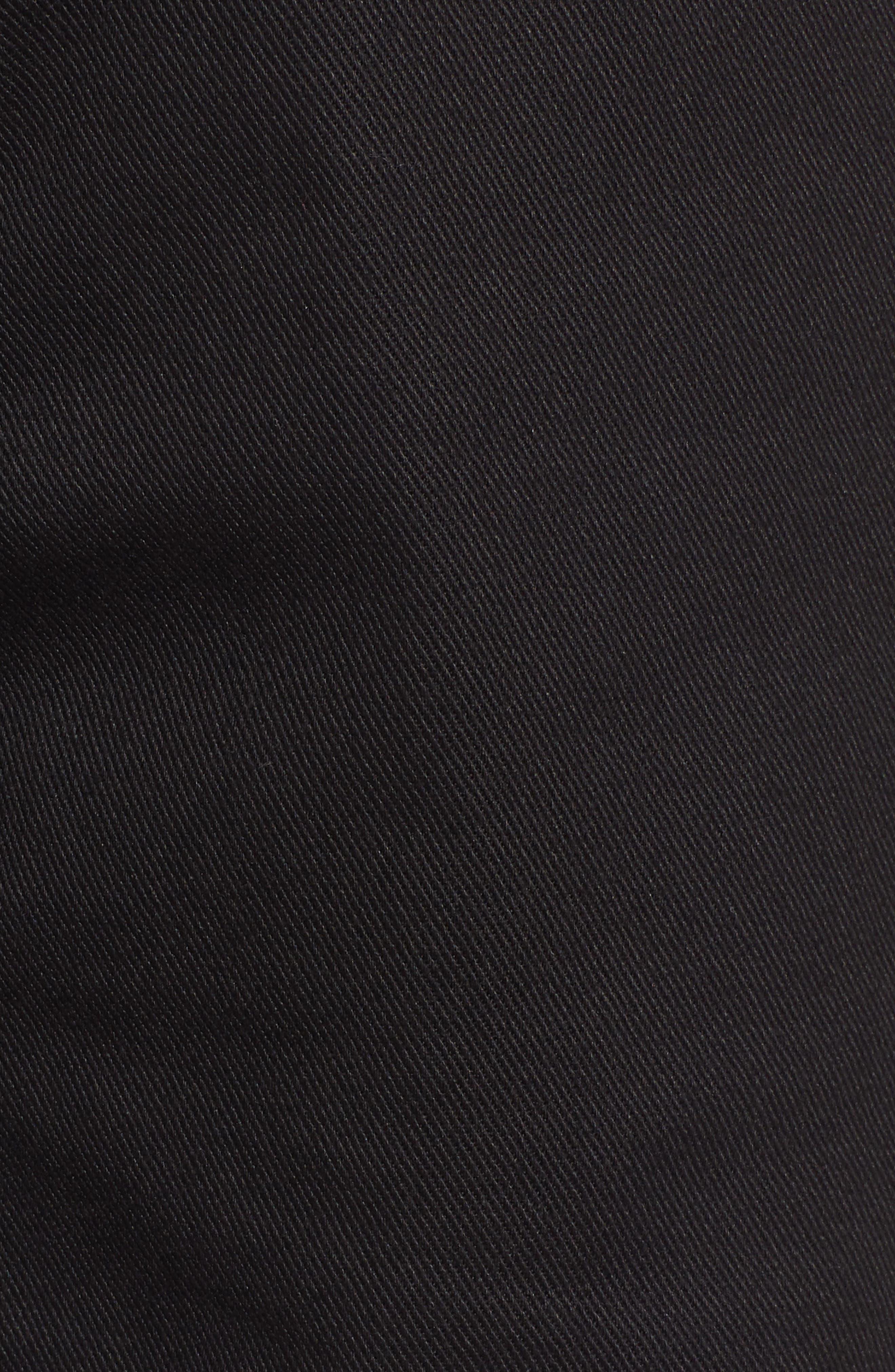 DICKIES, Relaxed Fit Carpenter Pants, Alternate thumbnail 6, color, BLACK