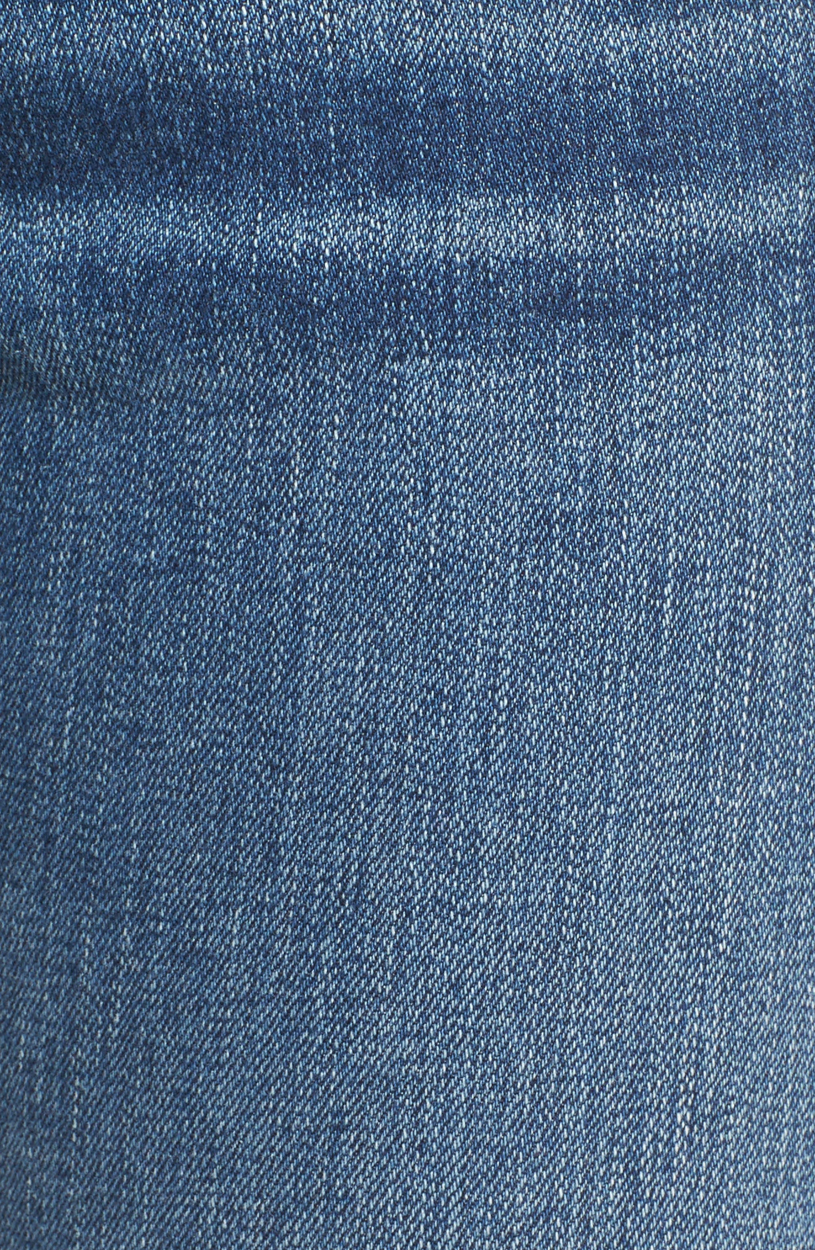 RAG & BONE, High Waist Ankle Skinny Jeans, Alternate thumbnail 5, color, 427