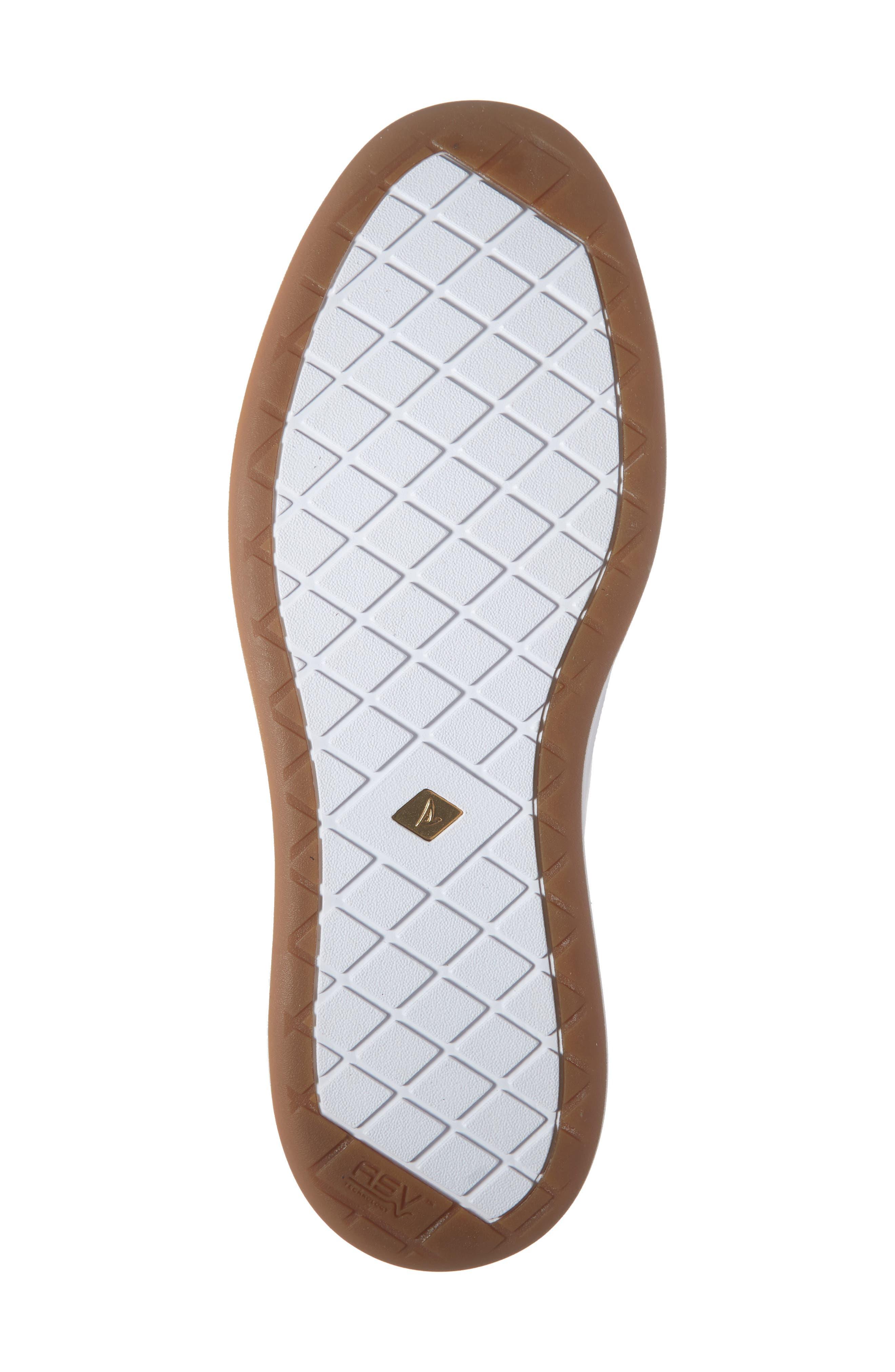 SPERRY, Gold Cup Richfield LTT Sneaker, Alternate thumbnail 6, color, WHITE