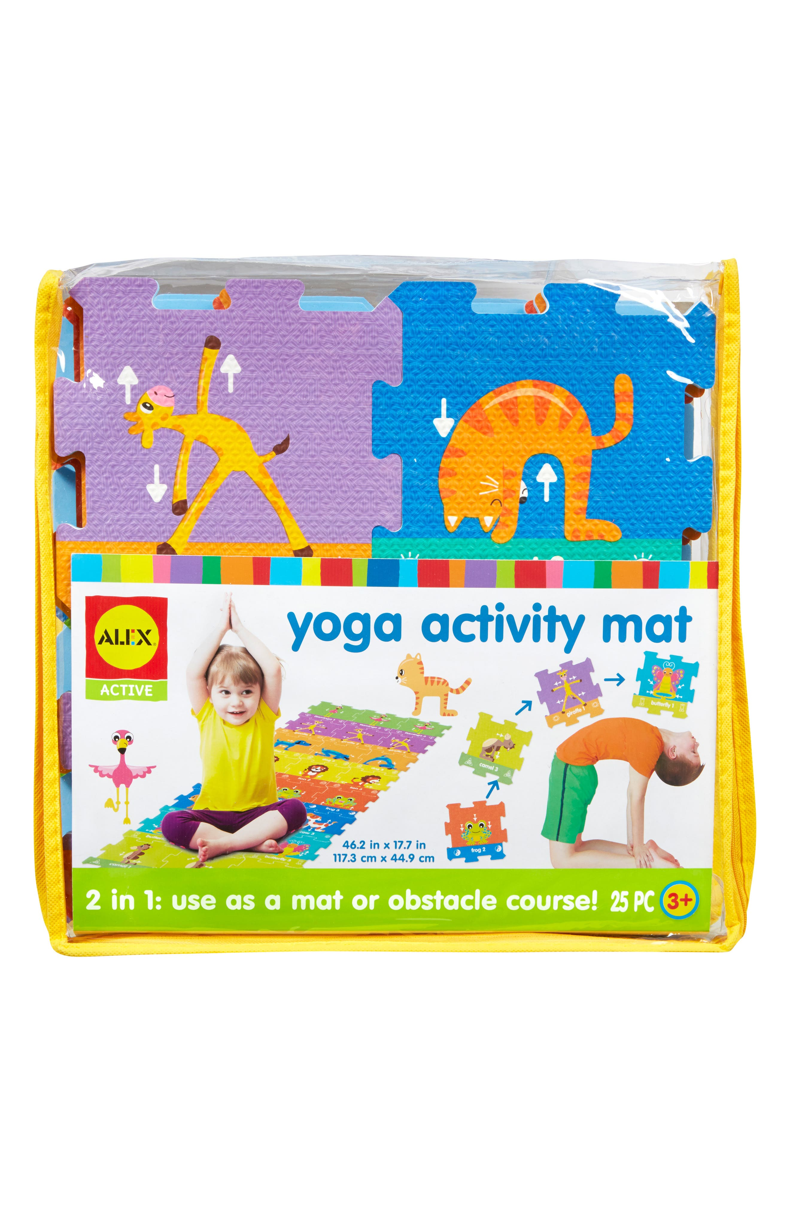 ALEX<SUP>®</SUP> TOYS, Yoga Activity Mat, Main thumbnail 1, color, 960