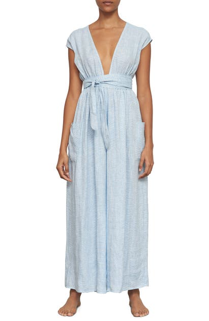Mara Hoffman Suits WHITNEY ORGANIC COTTON COVER-UP JUMPSUIT