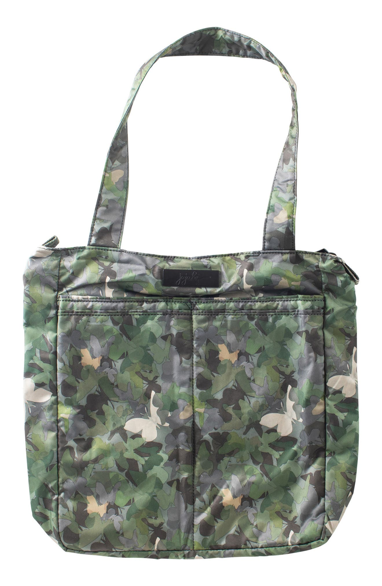 JU-JU-BE, 'Be Light - Onyx Collection' Diaper Bag, Main thumbnail 1, color, BUTTERFLY FOREST