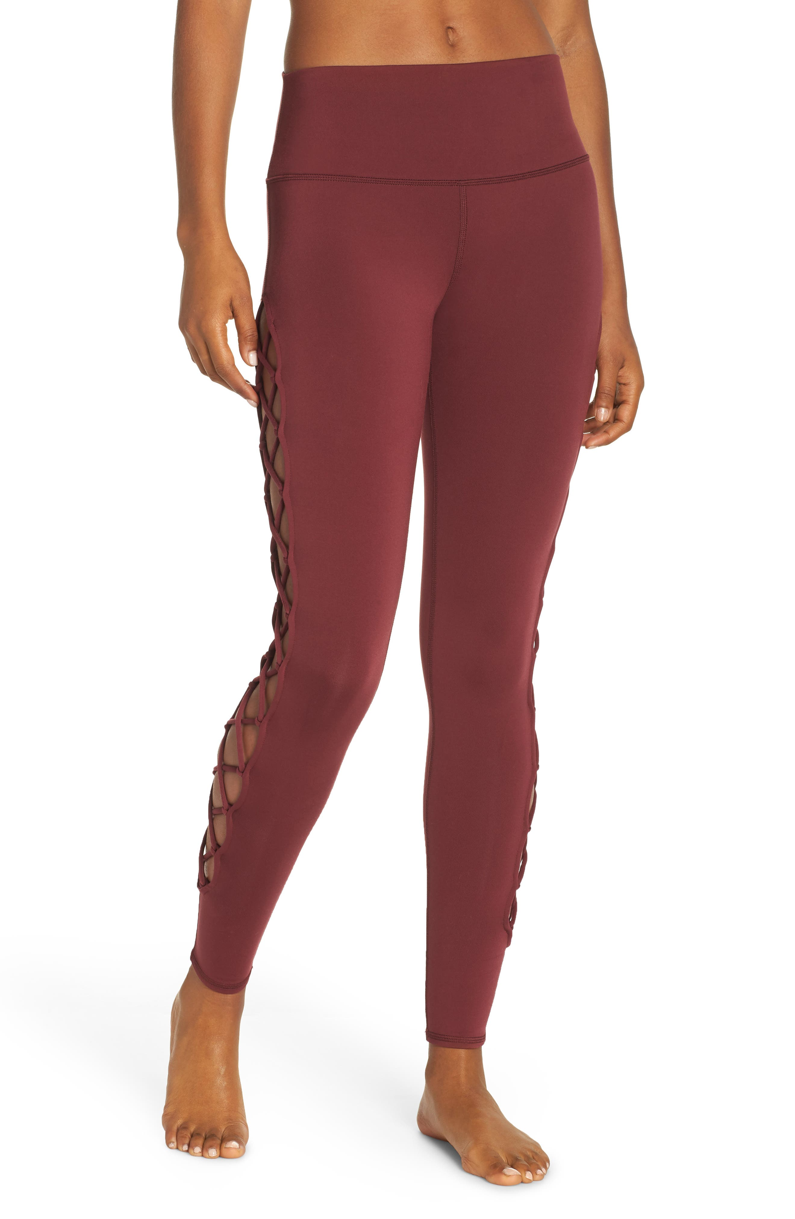 ALO, Interlace Leggings, Main thumbnail 1, color, 936