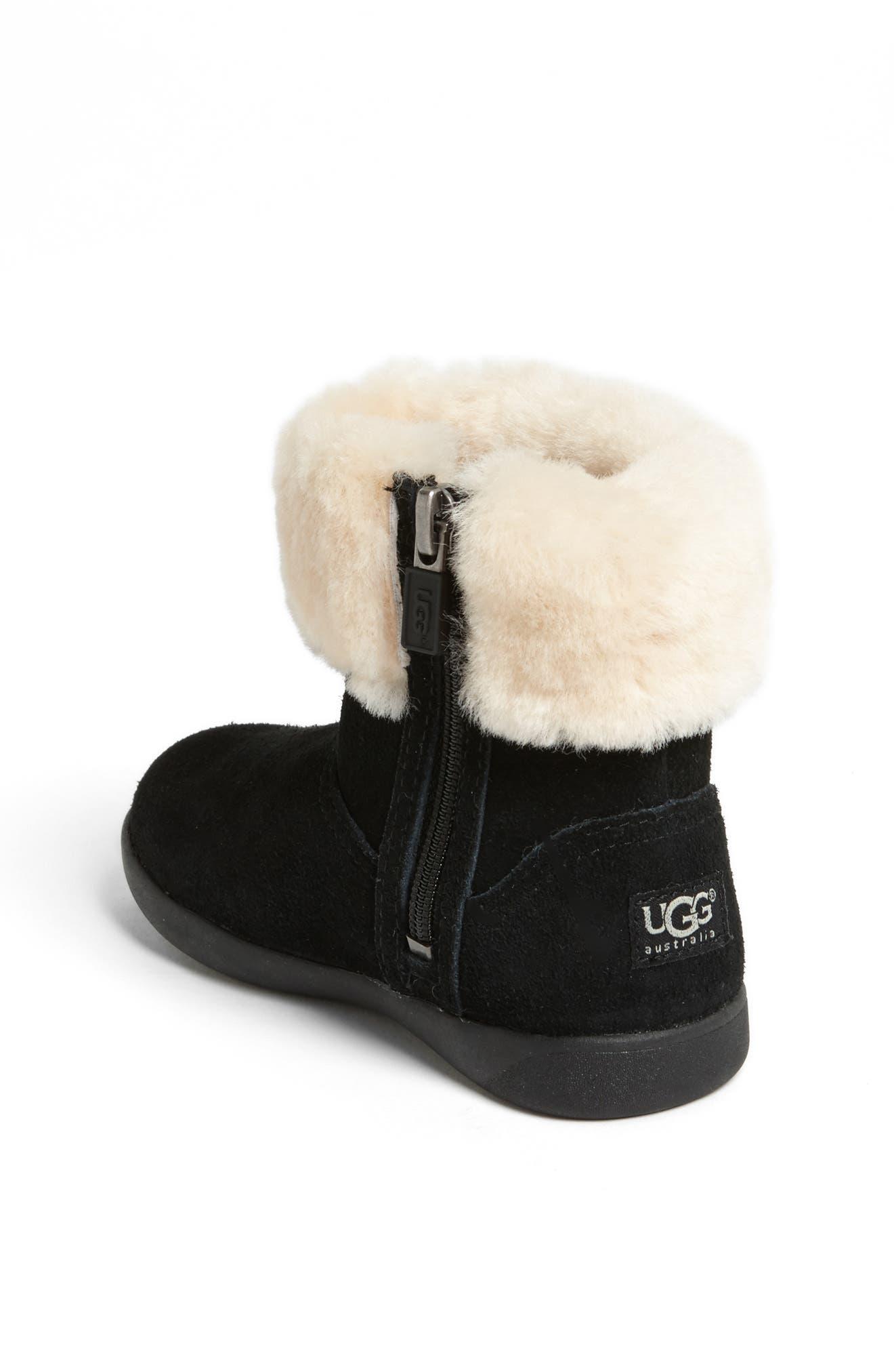 UGG<SUP>®</SUP>, Jorie II Boot, Alternate thumbnail 2, color, BLACK/ BLACK