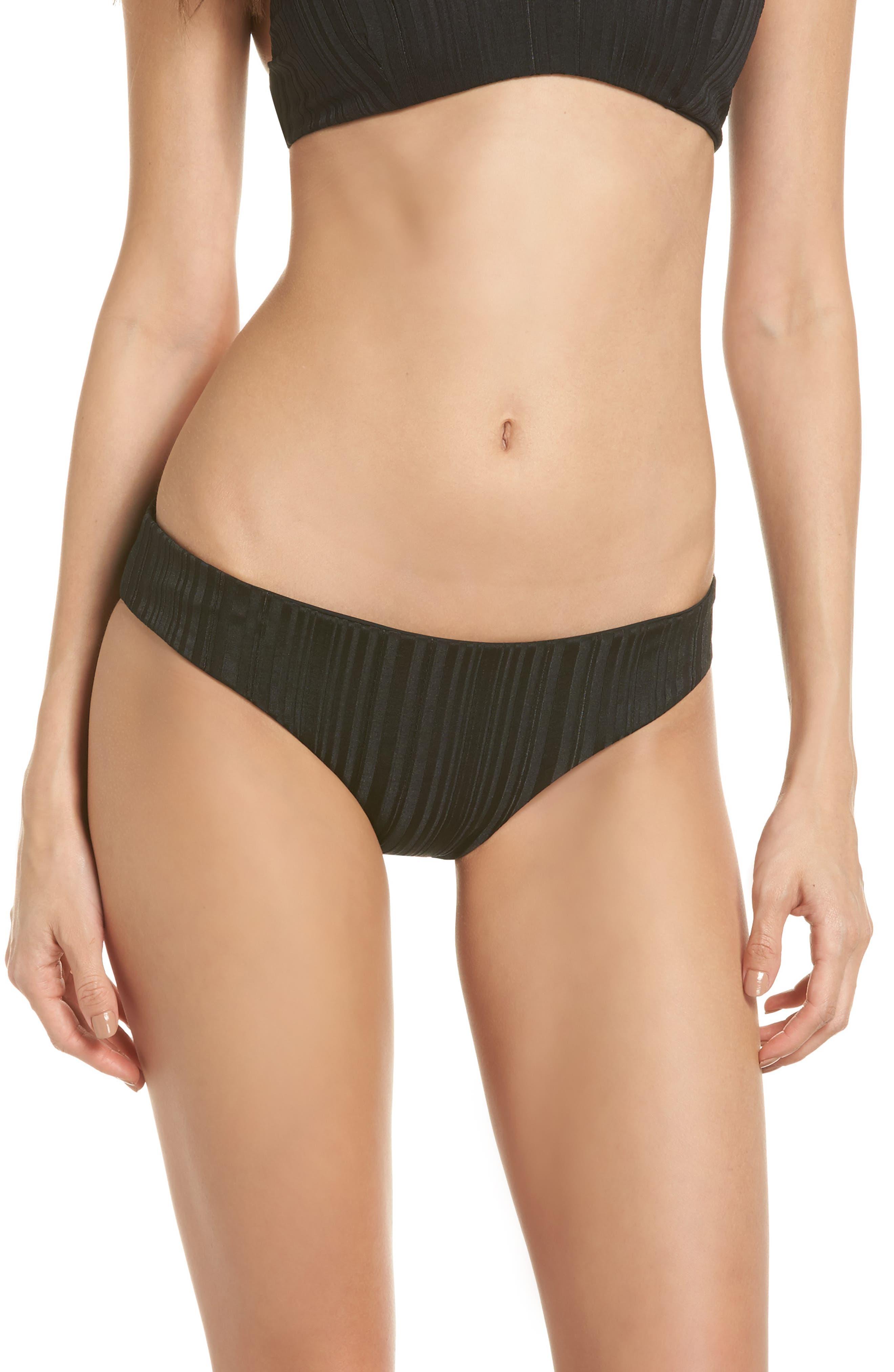 TAVIK Ali Bikini Bottoms, Main, color, BLACK