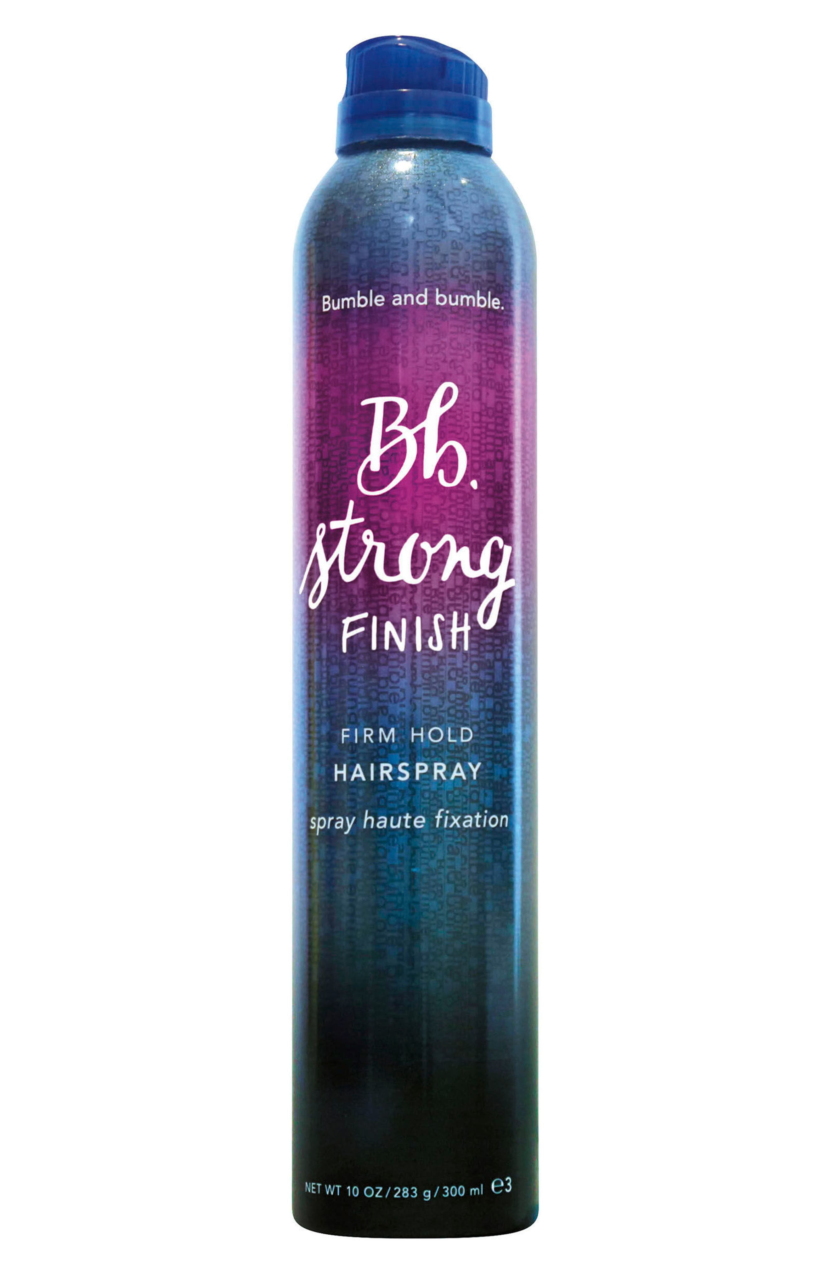 BUMBLE AND BUMBLE., Bumble and bumble Strong Finish Firm Hold Hairspray, Main thumbnail 1, color, NO COLOR