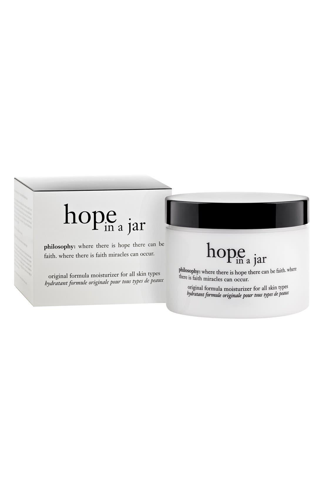 PHILOSOPHY, hope in a jar original formula moisturizer, Alternate thumbnail 2, color, NO COLOR