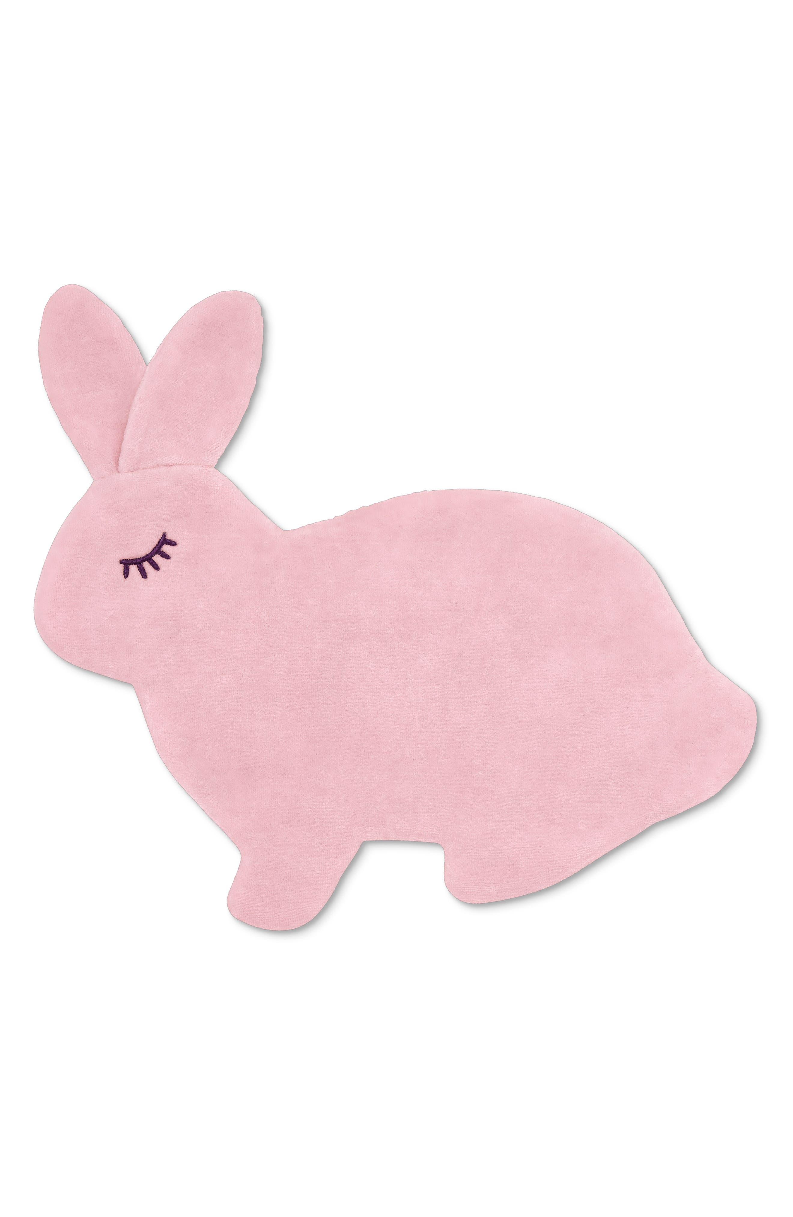 APPLE PARK TOYS Bunny Crinkle Blankie, Main, color, 650