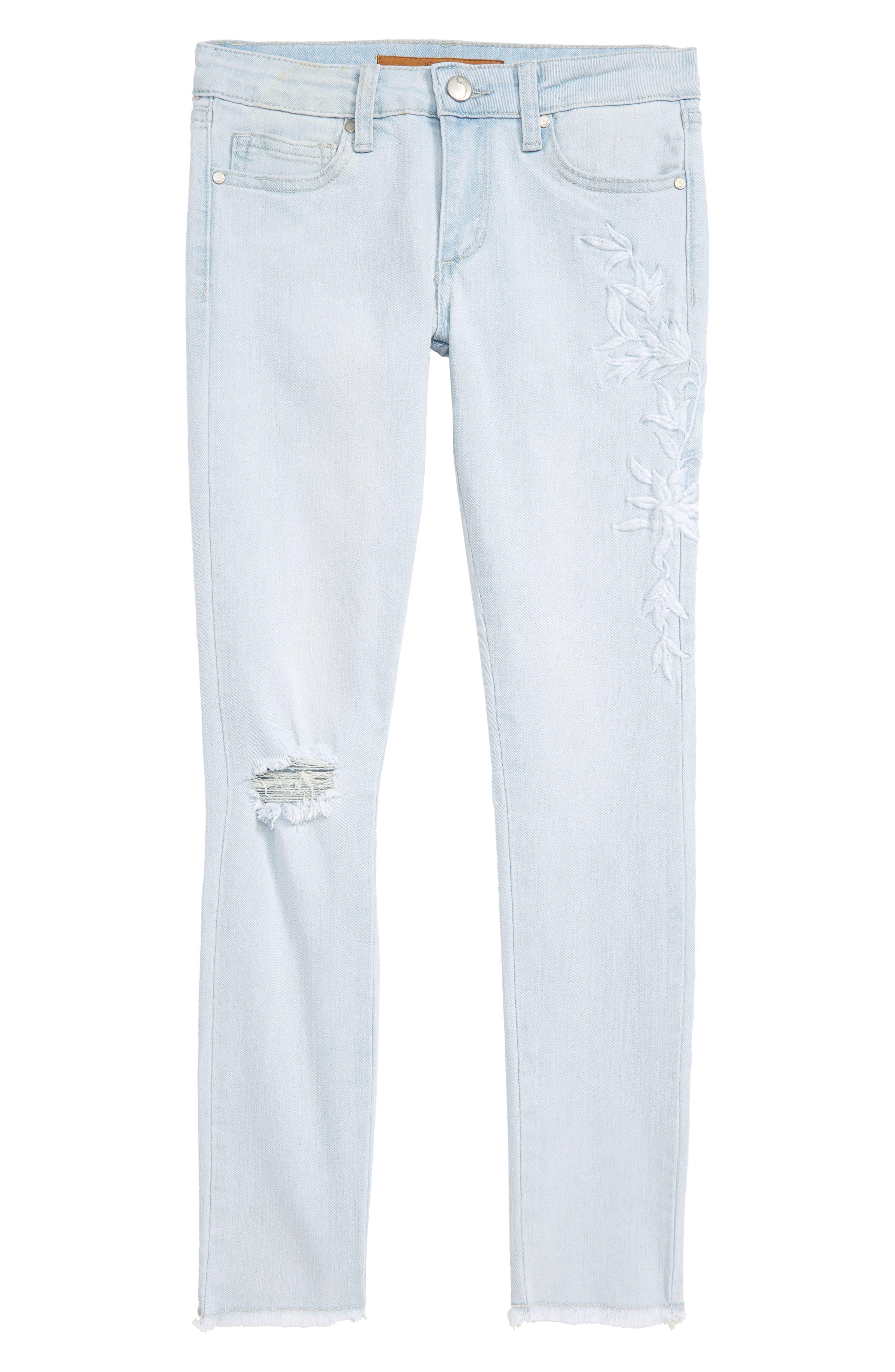 JOE'S The Markie Ankle Skinny Jeans, Main, color, ELIN