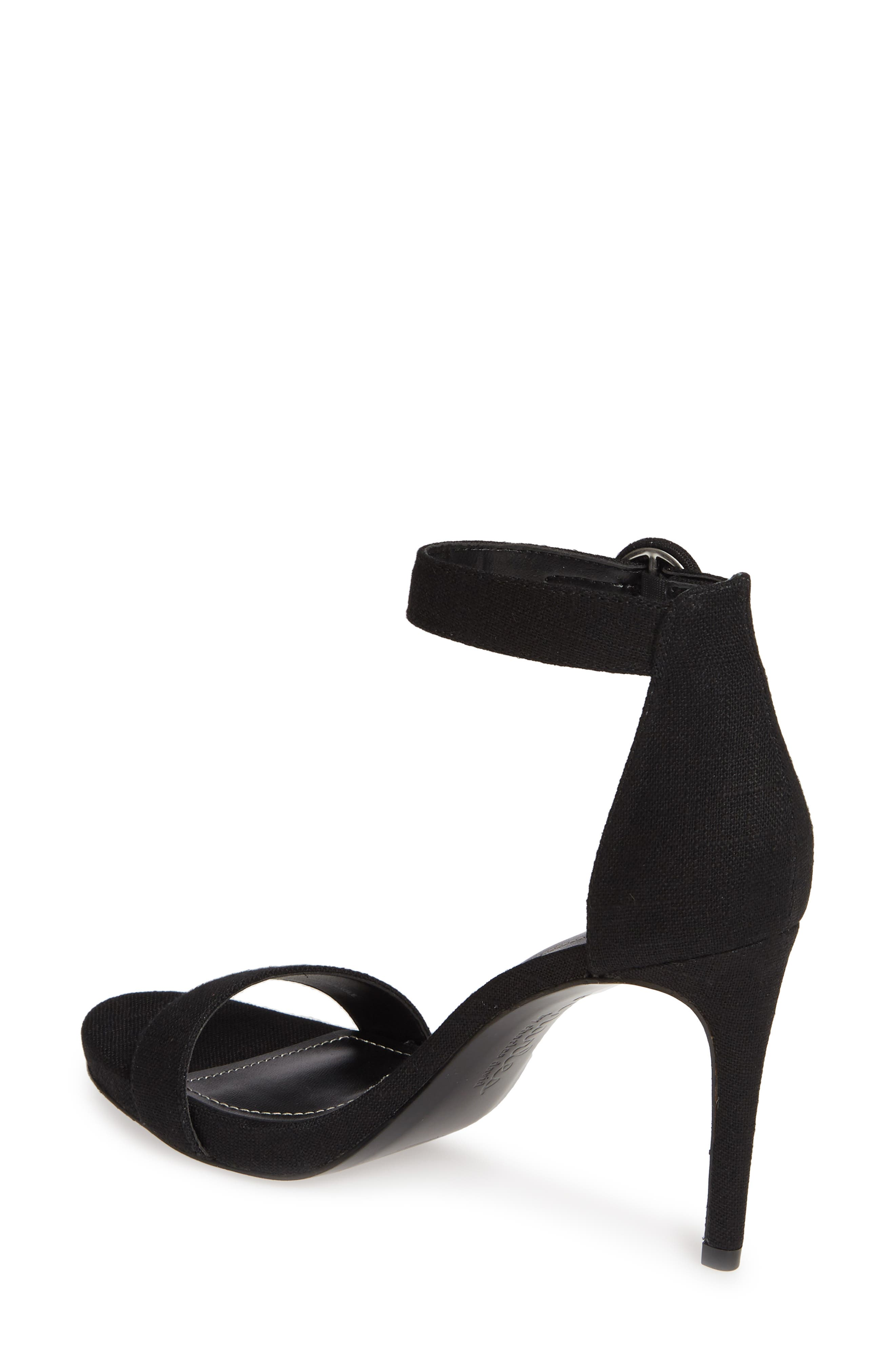 CHARLES BY CHARLES DAVID, Cairo Sandal, Alternate thumbnail 2, color, BLACK FABRIC