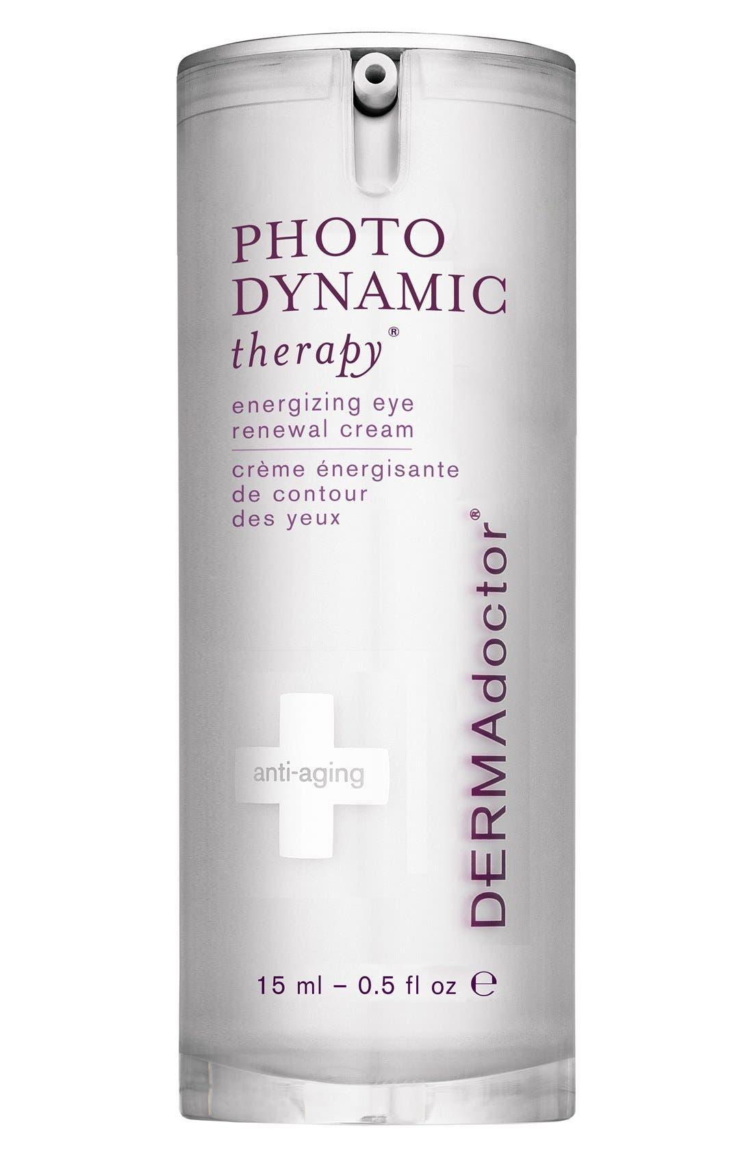 DERMADOCTOR<SUP>®</SUP>, 'PHOTODYNAMIC therapy<sup>®</sup>' Energizing Eye Renewal Cream, Main thumbnail 1, color, NO COLOR