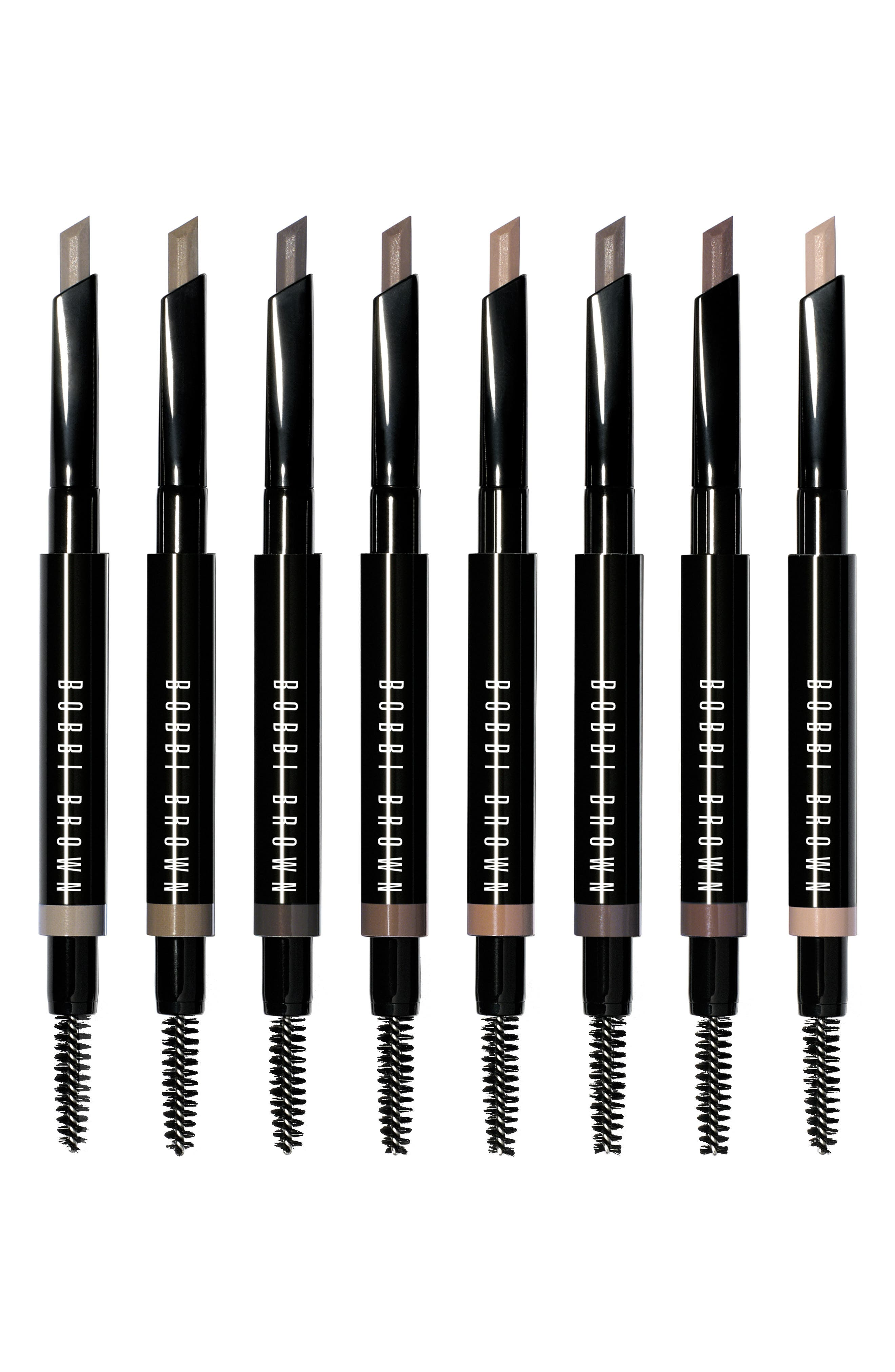 BOBBI BROWN, Perfectly Defined Long-Wear Brow Pencil, Alternate thumbnail 5, color, GREY