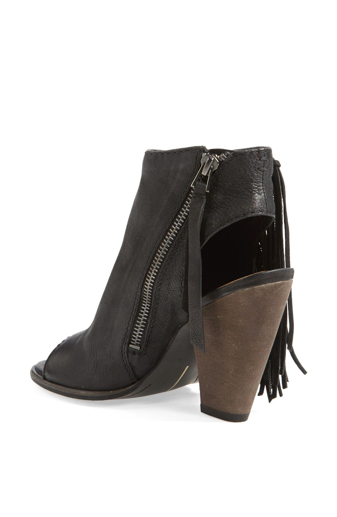 DOLCE VITA, 'Noralee' Bootie, Alternate thumbnail 3, color, 001