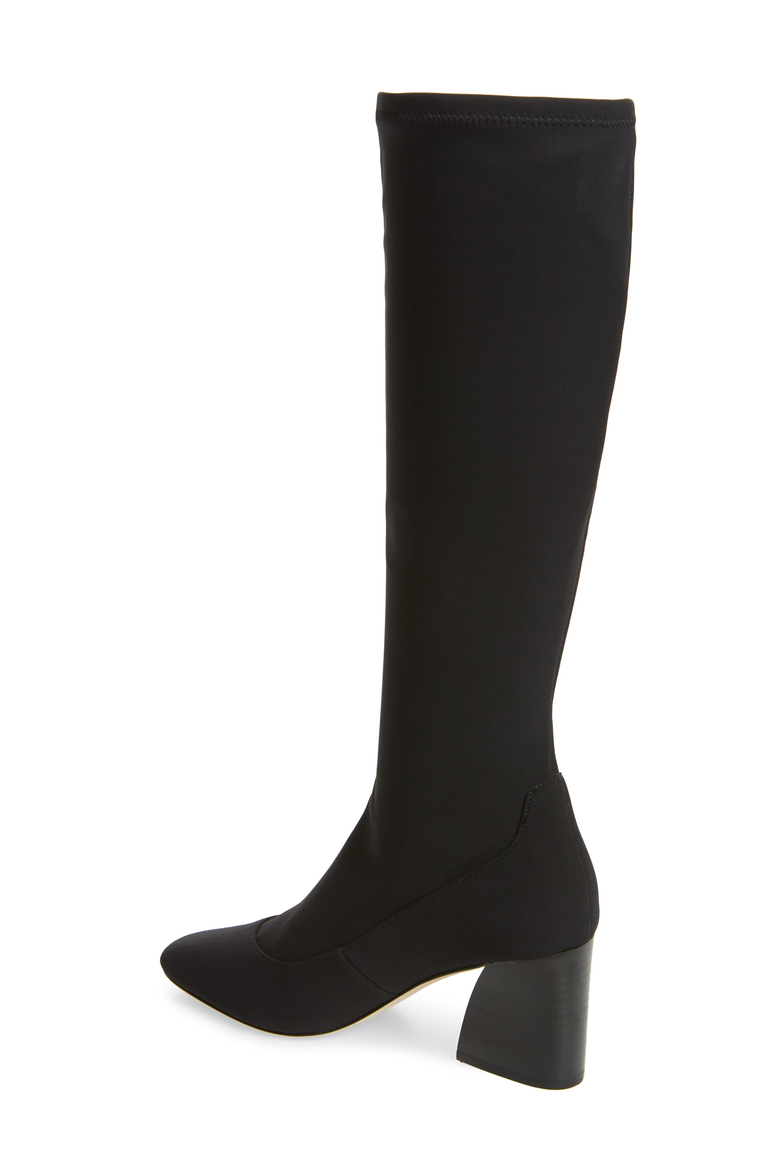 DONALD PLINER, Gerti Knee High Stretch Boot, Alternate thumbnail 2, color, 001