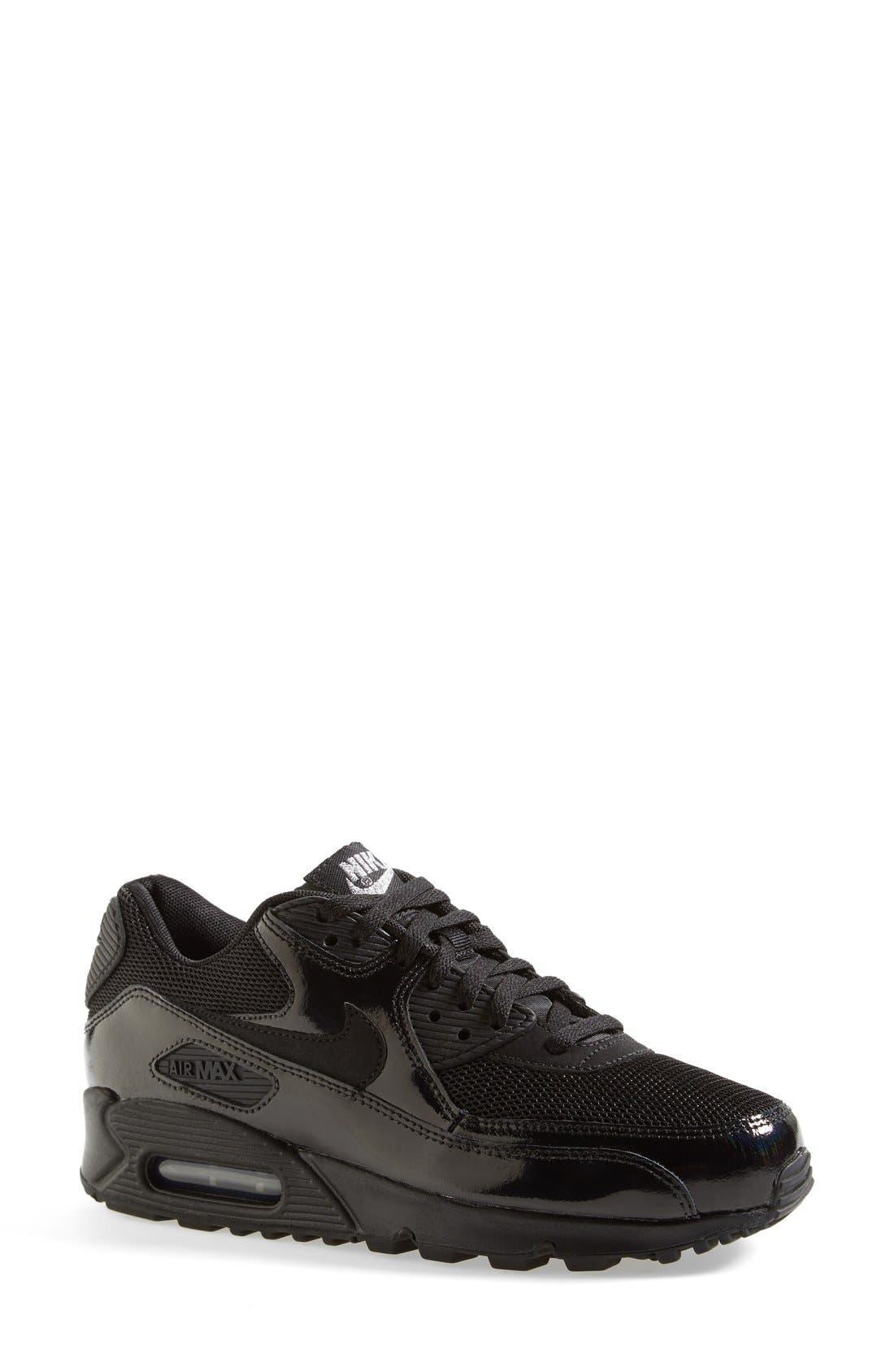 NIKE, 'Air Max 90 - Premium' Sneaker, Main thumbnail 1, color, 002