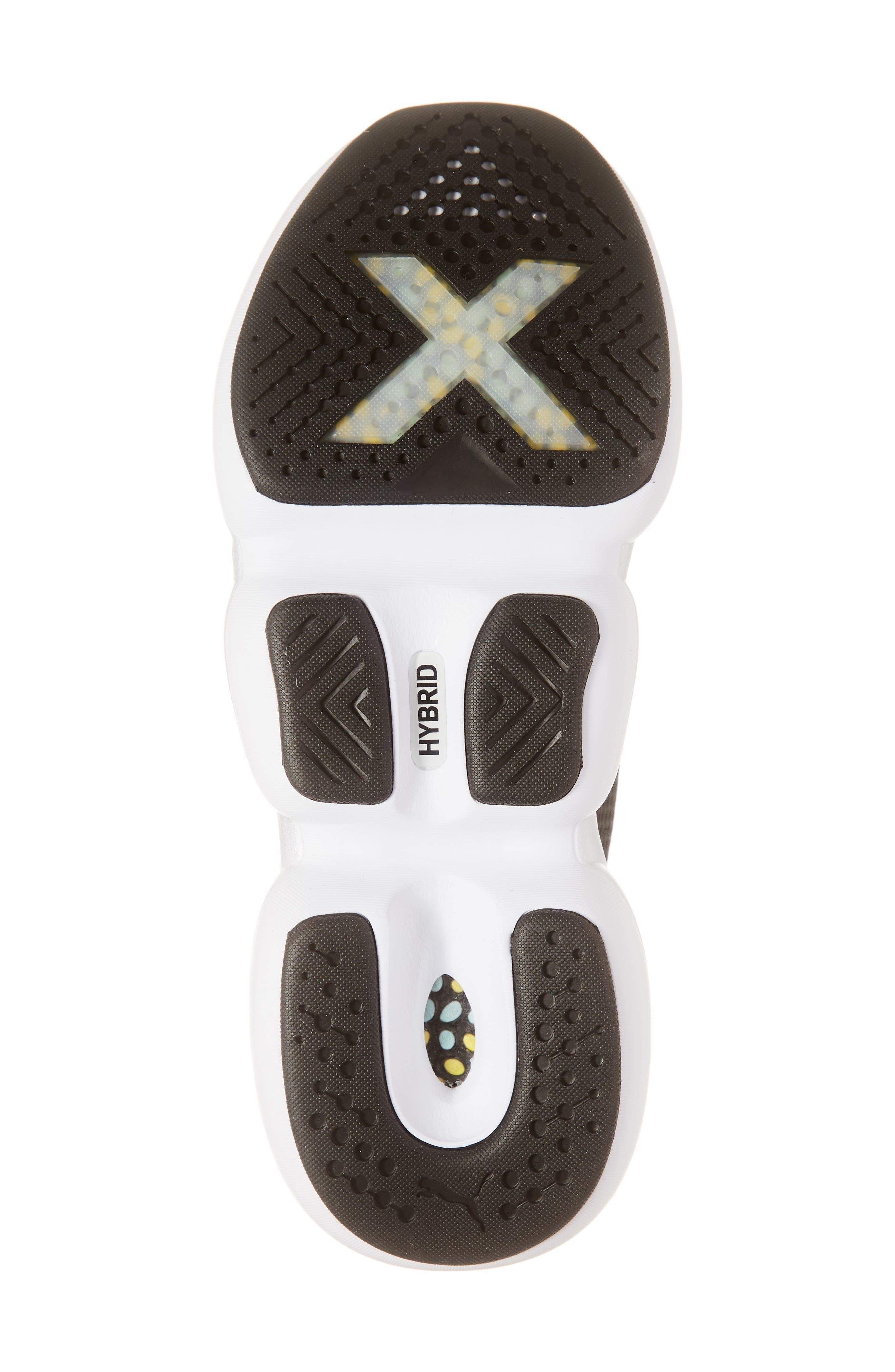 PUMA, Mode XT Hybrid Training Shoe, Alternate thumbnail 6, color, BLACK